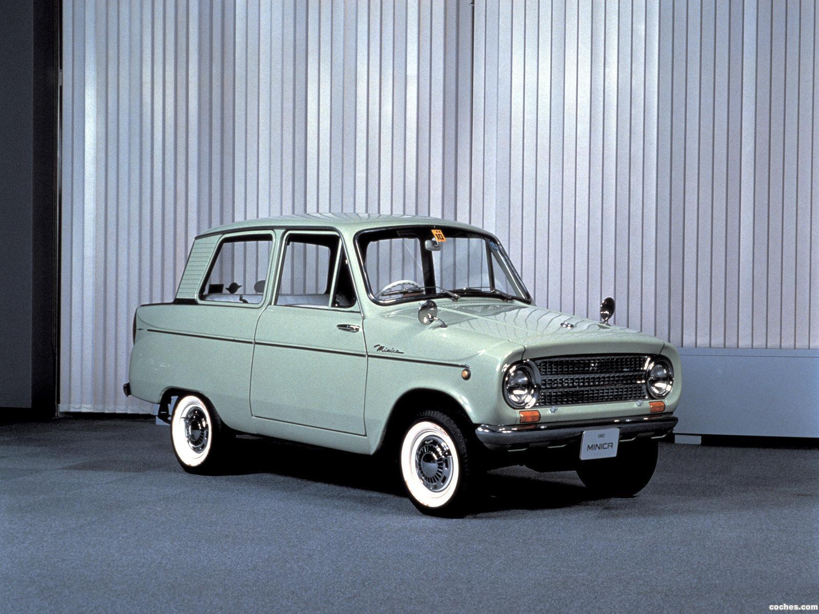 Foto 0 de Mitsubishi Minica 1962