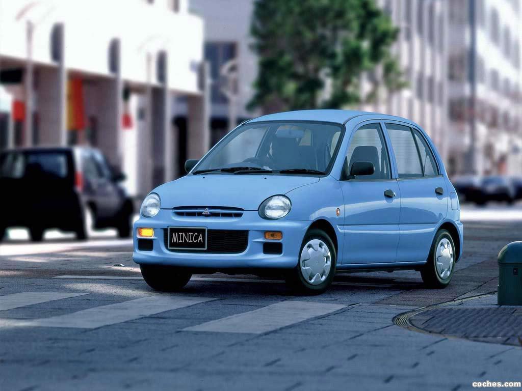 Foto 0 de Mitsubishi Minica 1993