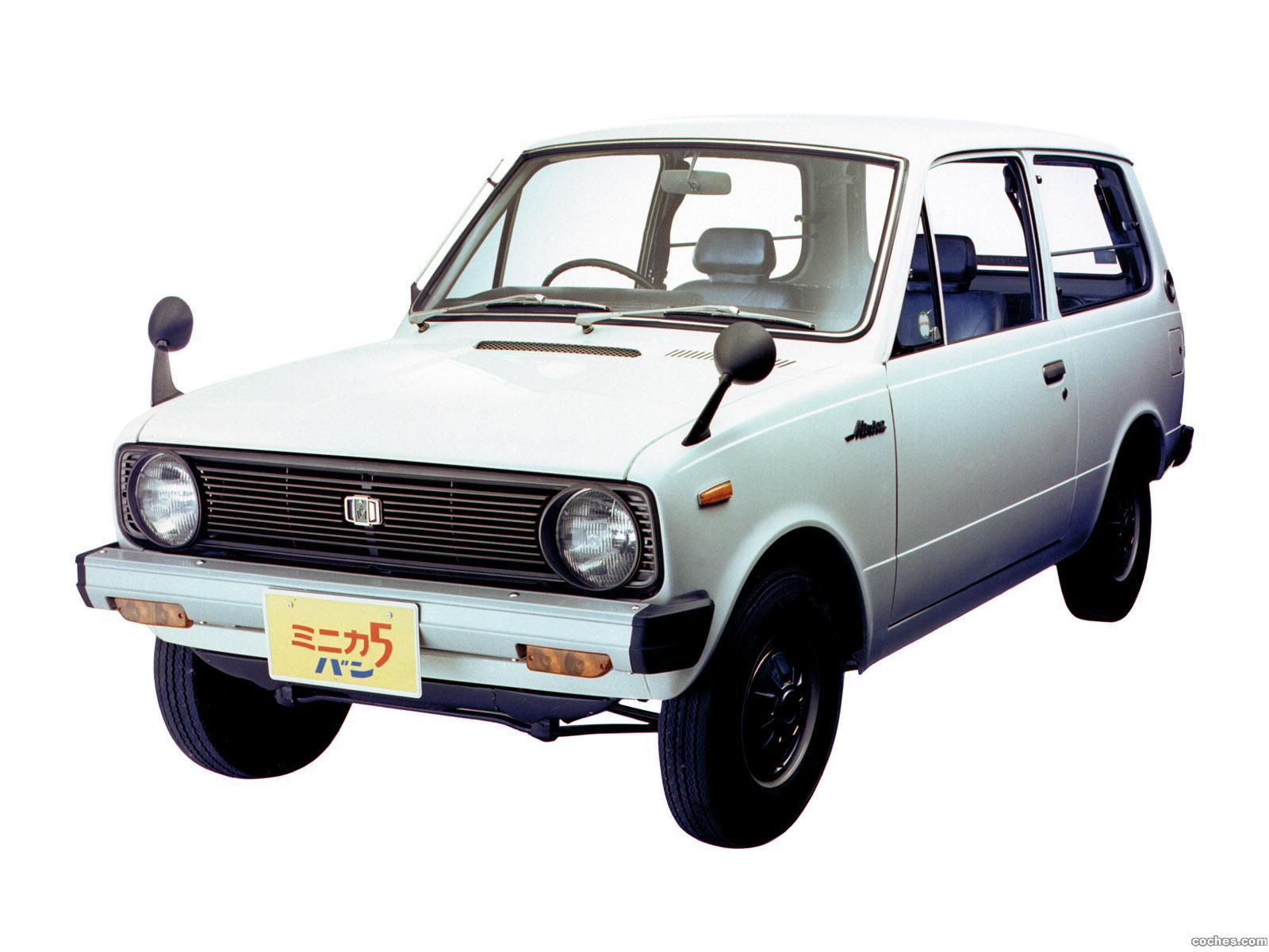 Foto 0 de Mitsubishi Minica 5 Van 1976