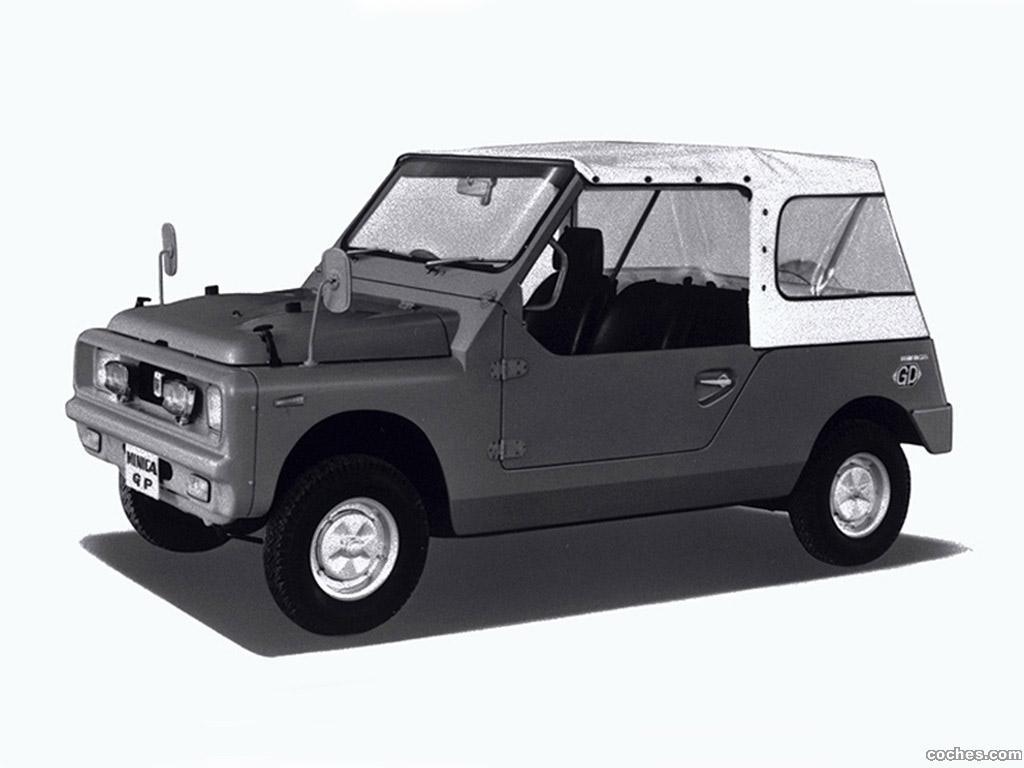 Foto 0 de Mitsubishi Minica Jeep Concept 1969