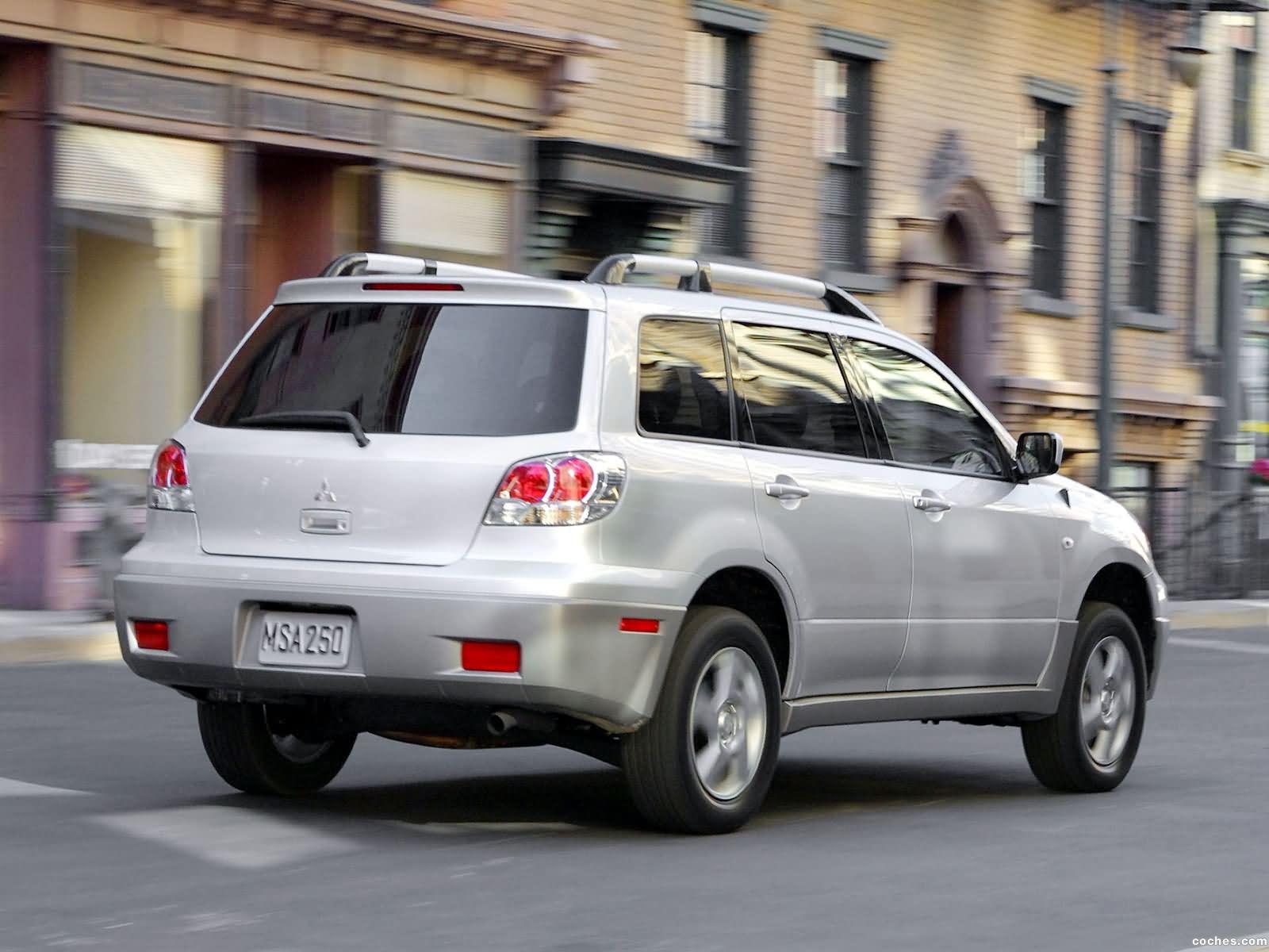 Foto 26 de Mitsubishi Outlander 2003