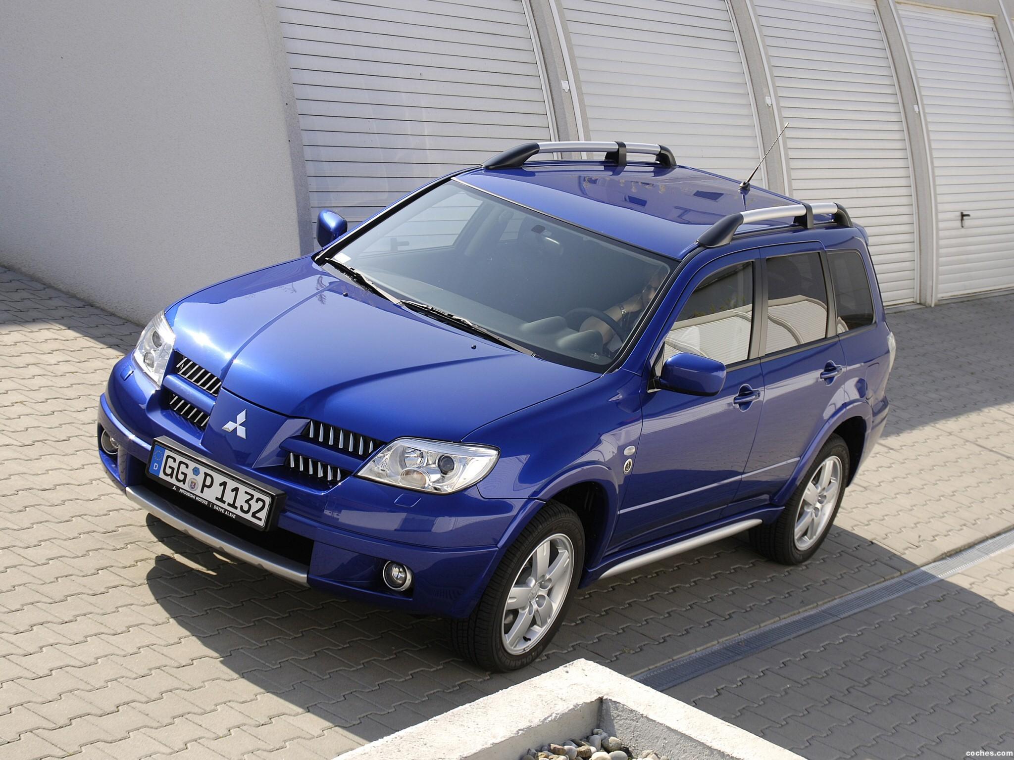 Foto 0 de Mitsubishi Outlander Dakar Edition 2005