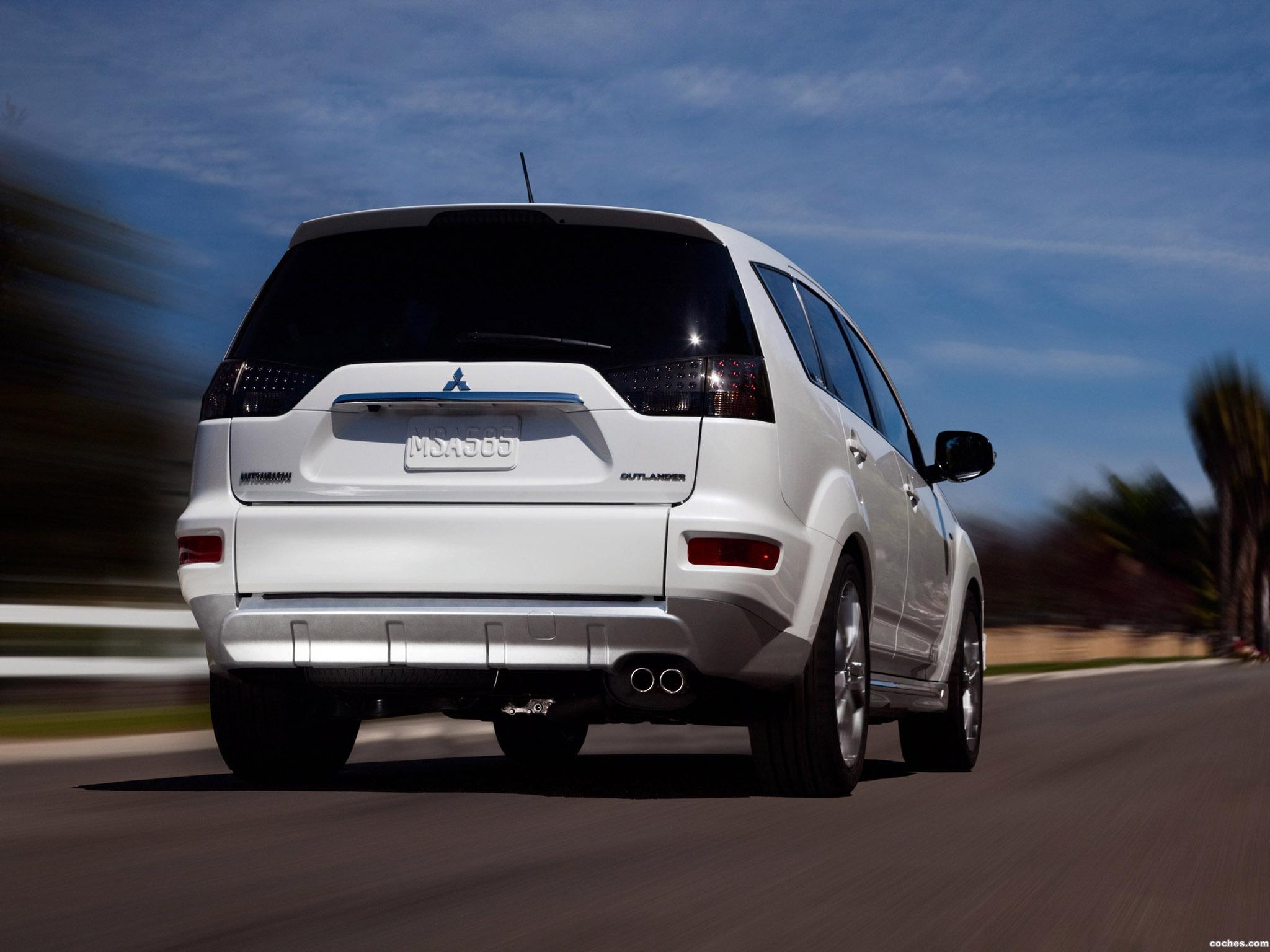 Foto 15 de Mitsubishi Outlander GT Prototype 2009