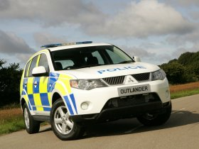 Fotos de Mitsubishi Outlander UK Police 2008