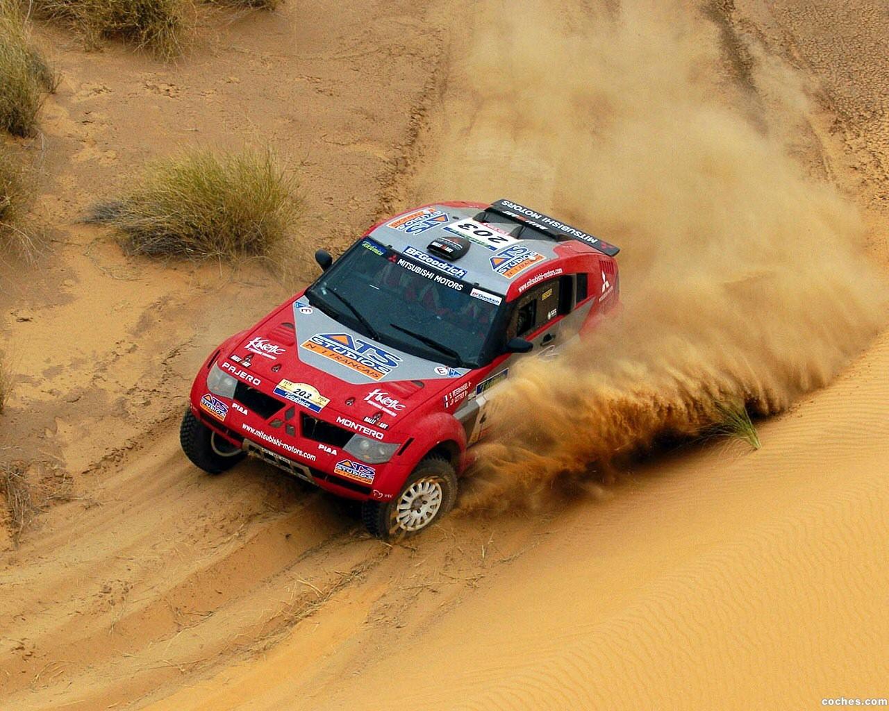 Foto 0 de Mitsubishi Pajero Dakar 2004