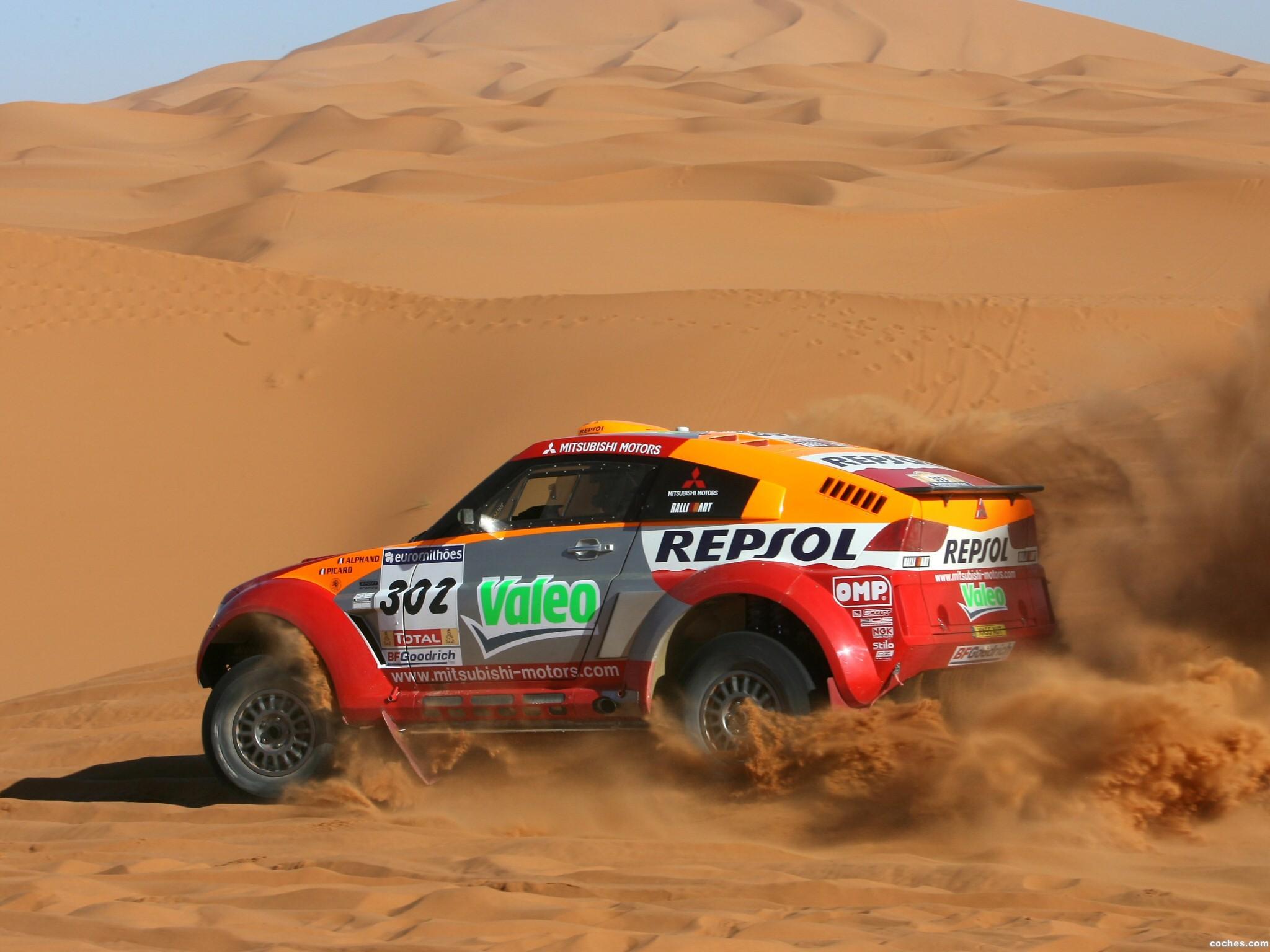 Foto 14 de Mitsubishi Pajero Dakar 2006