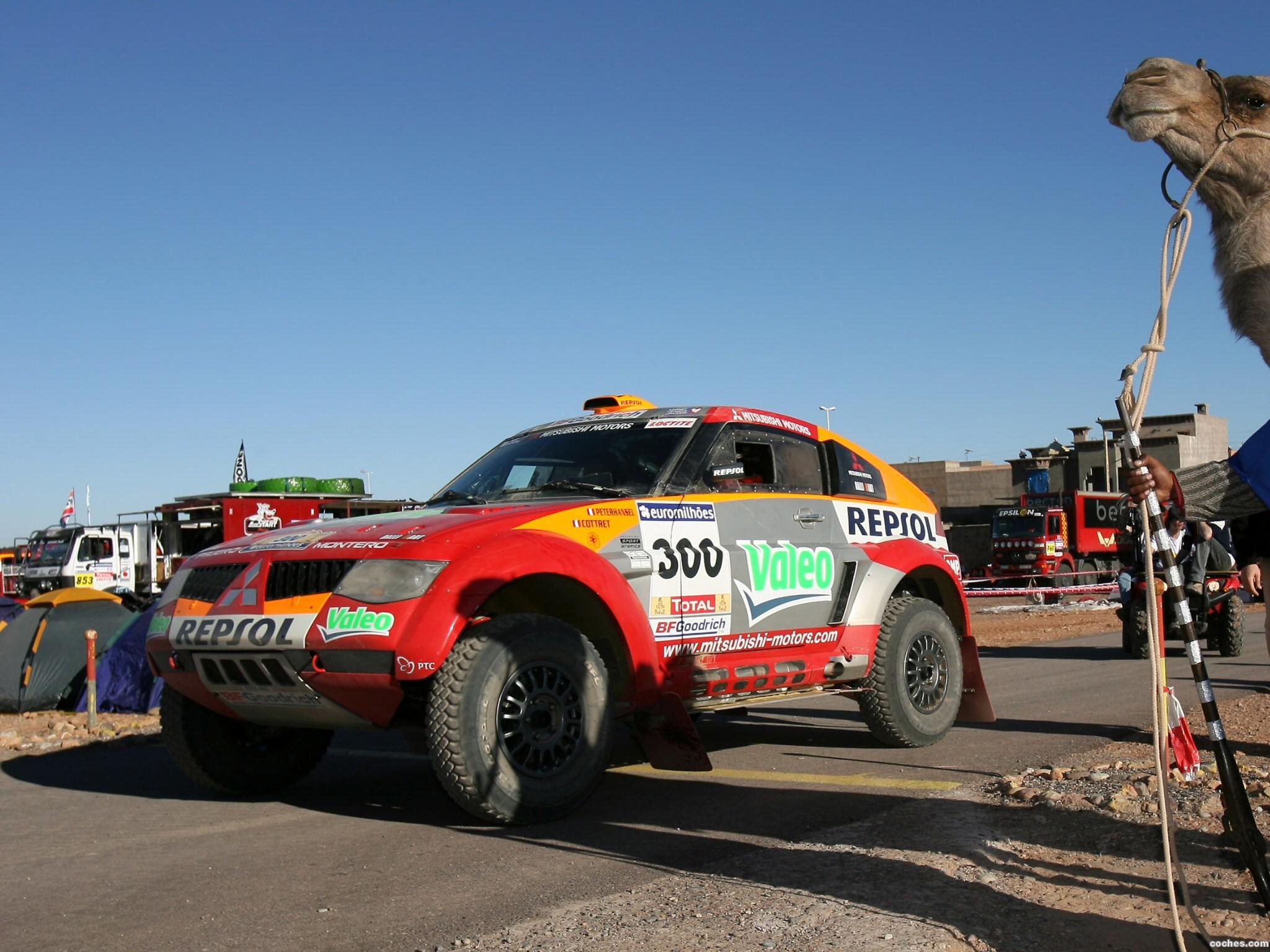 Foto 5 de Mitsubishi Pajero Dakar 2006