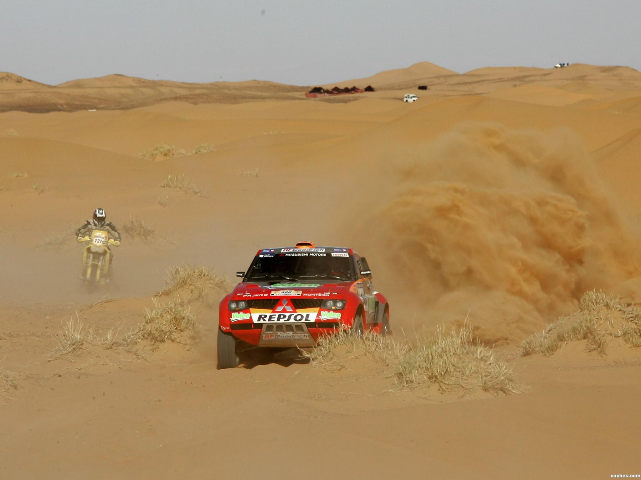 Foto 4 de Mitsubishi Pajero Dakar 2006