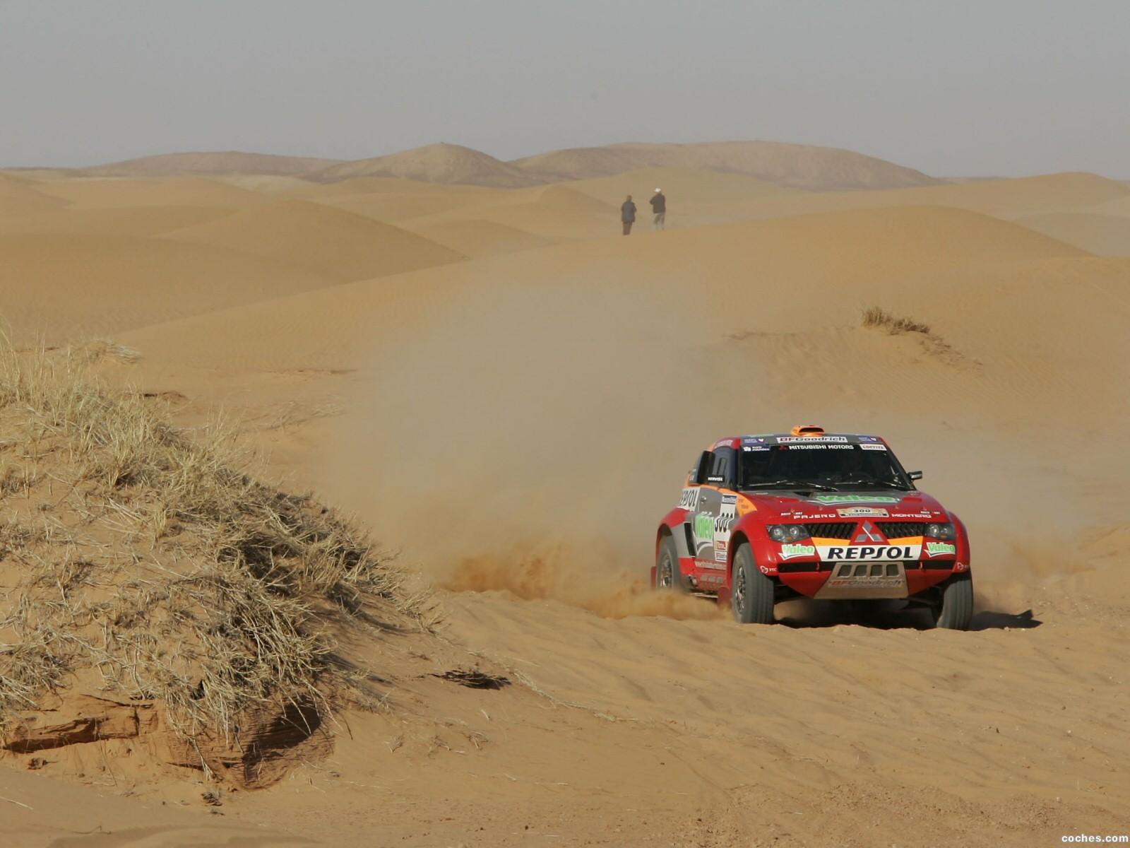 Foto 3 de Mitsubishi Pajero Dakar 2006