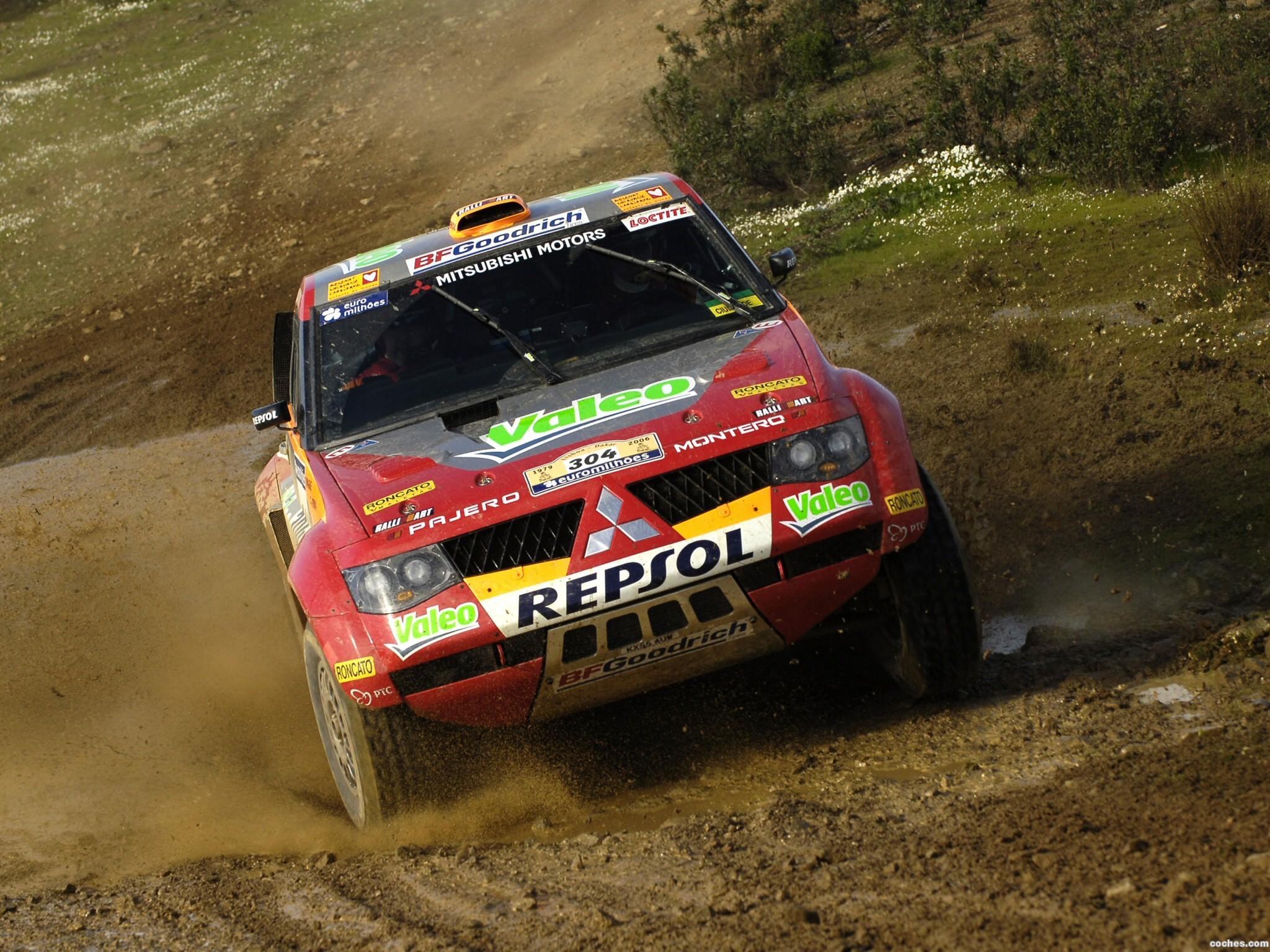 Foto 2 de Mitsubishi Pajero Dakar 2006