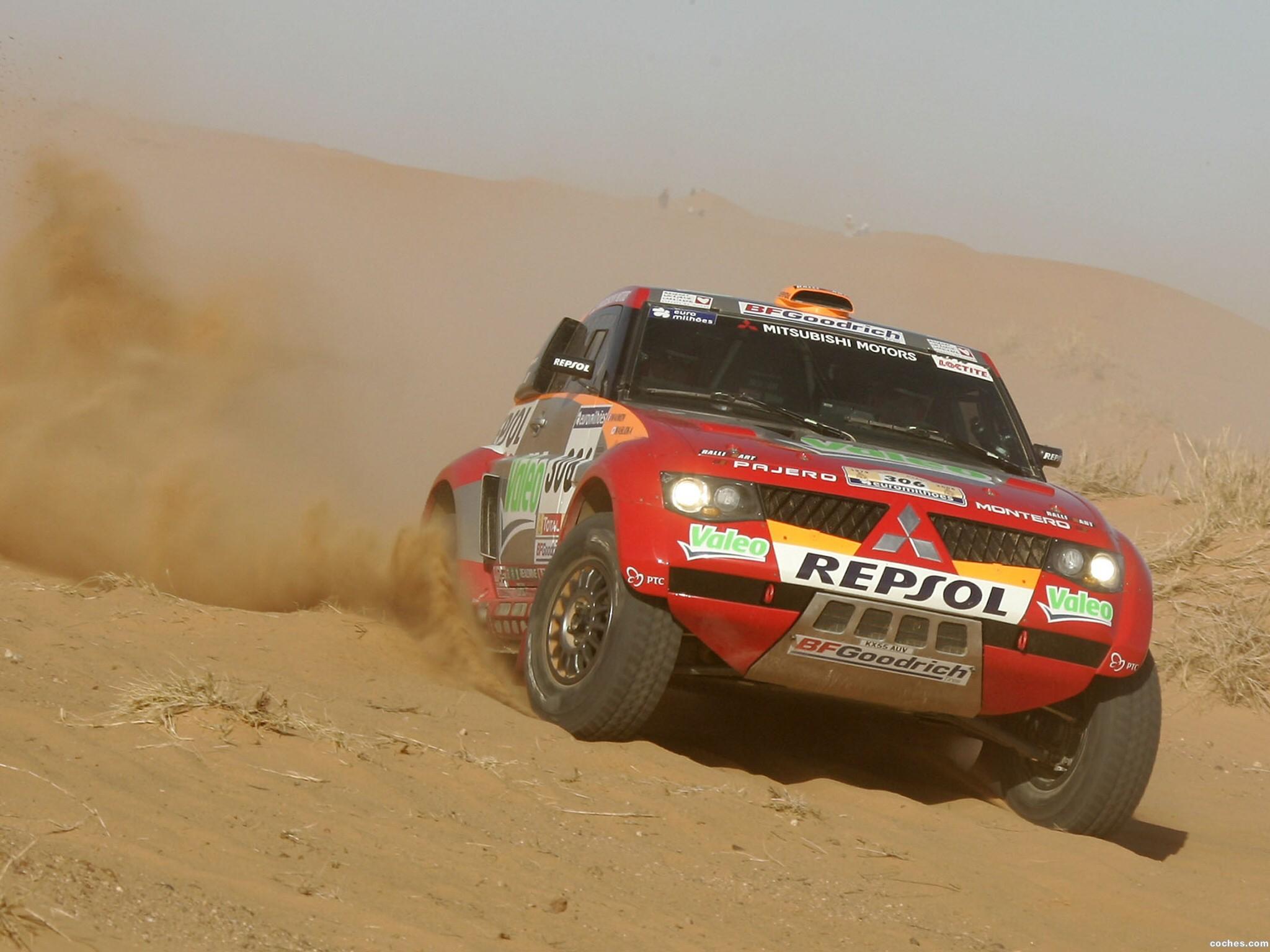 Foto 0 de Mitsubishi Pajero Dakar 2006