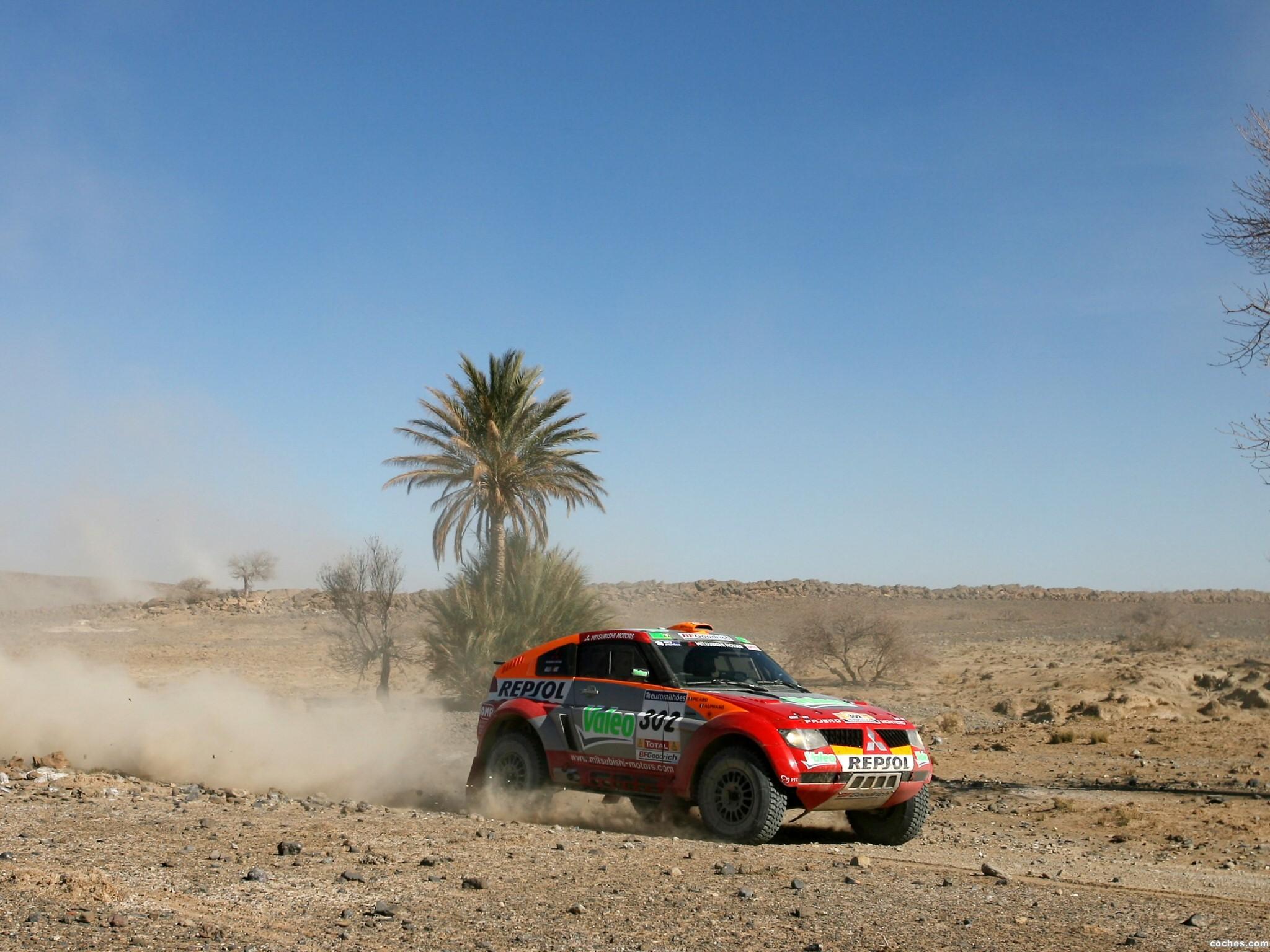 Foto 13 de Mitsubishi Pajero Dakar 2006