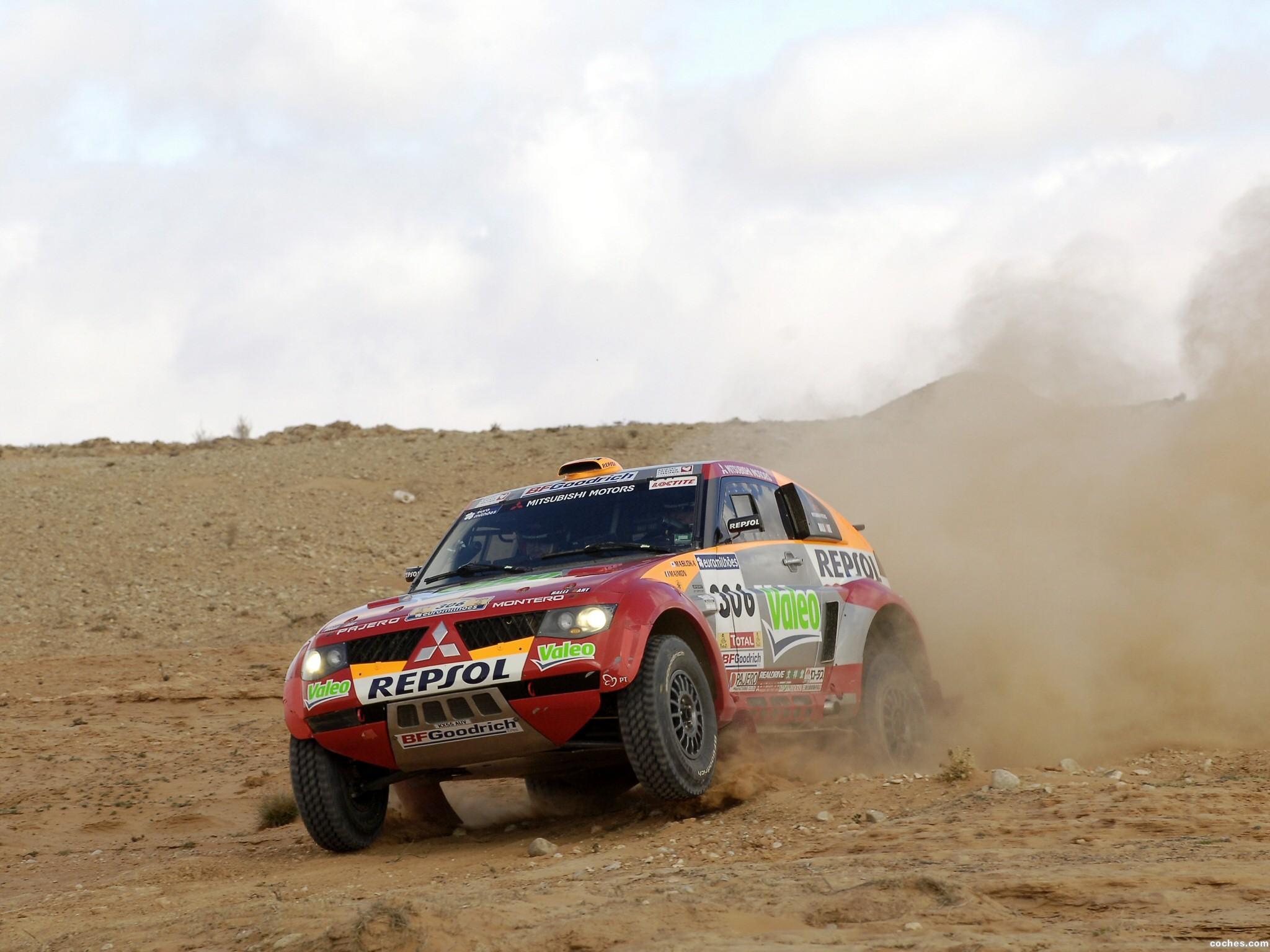 Foto 11 de Mitsubishi Pajero Dakar 2006