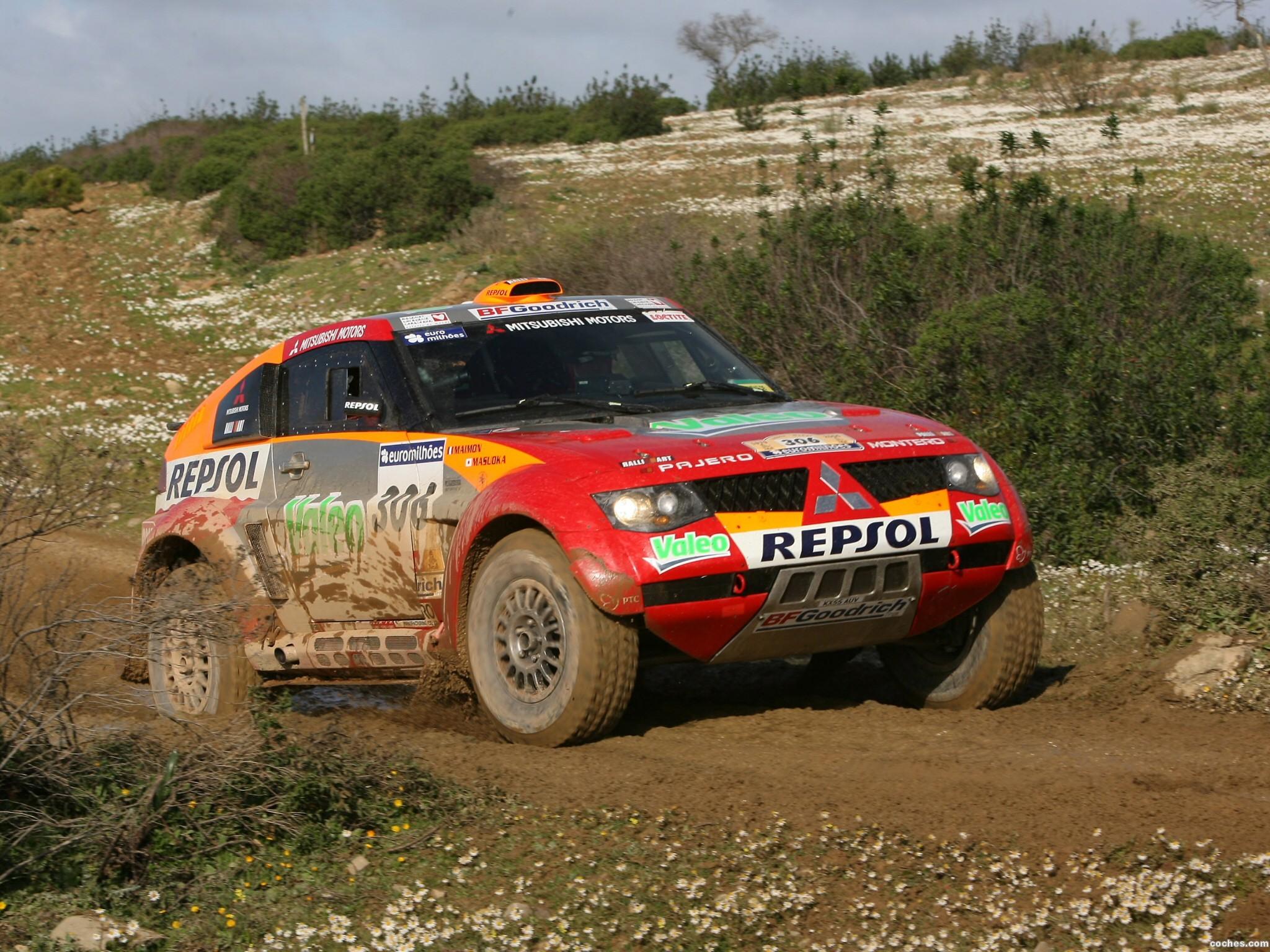 Foto 10 de Mitsubishi Pajero Dakar 2006