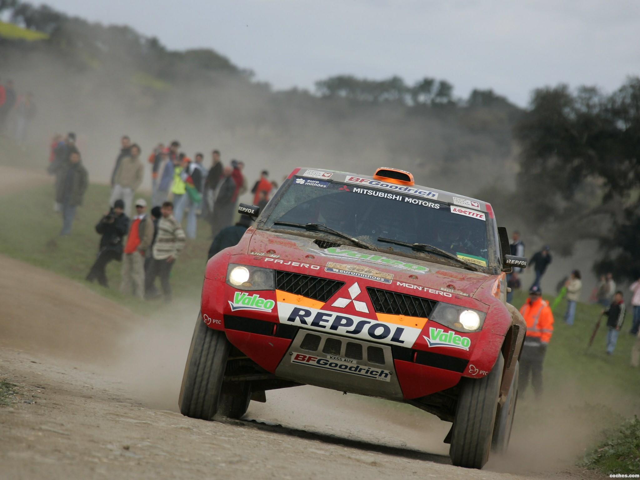 Foto 8 de Mitsubishi Pajero Dakar 2006