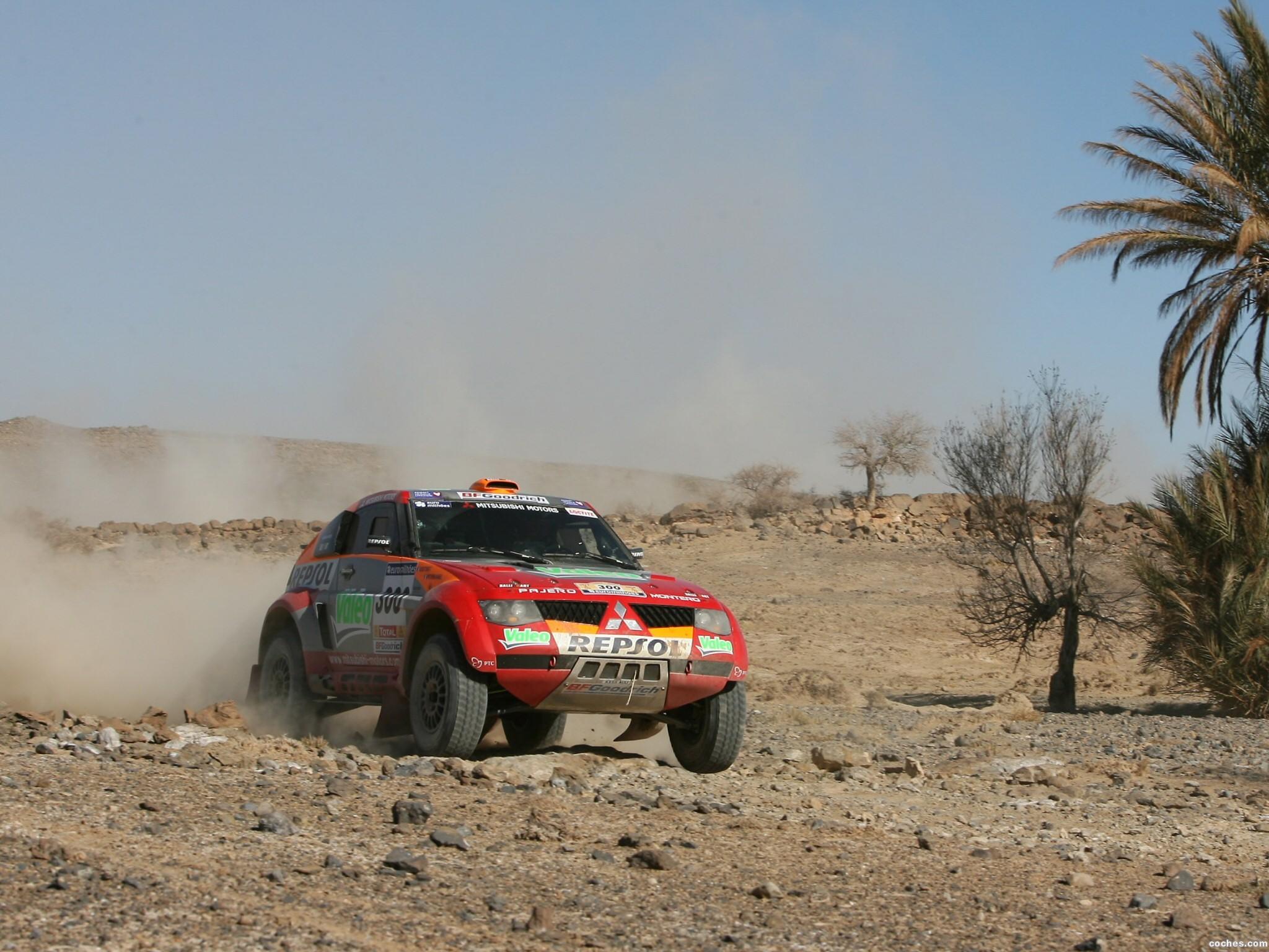 Foto 7 de Mitsubishi Pajero Dakar 2006
