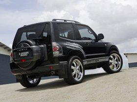 Ver foto 4 de Mitsubishi Pajero Panther Concept 2008
