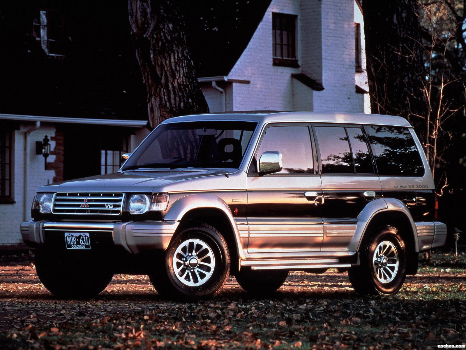 Foto 0 de Mitsubishi Pajero Wagon 1991