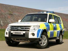 Fotos de Mitsubishi Shogun UK Police 2008