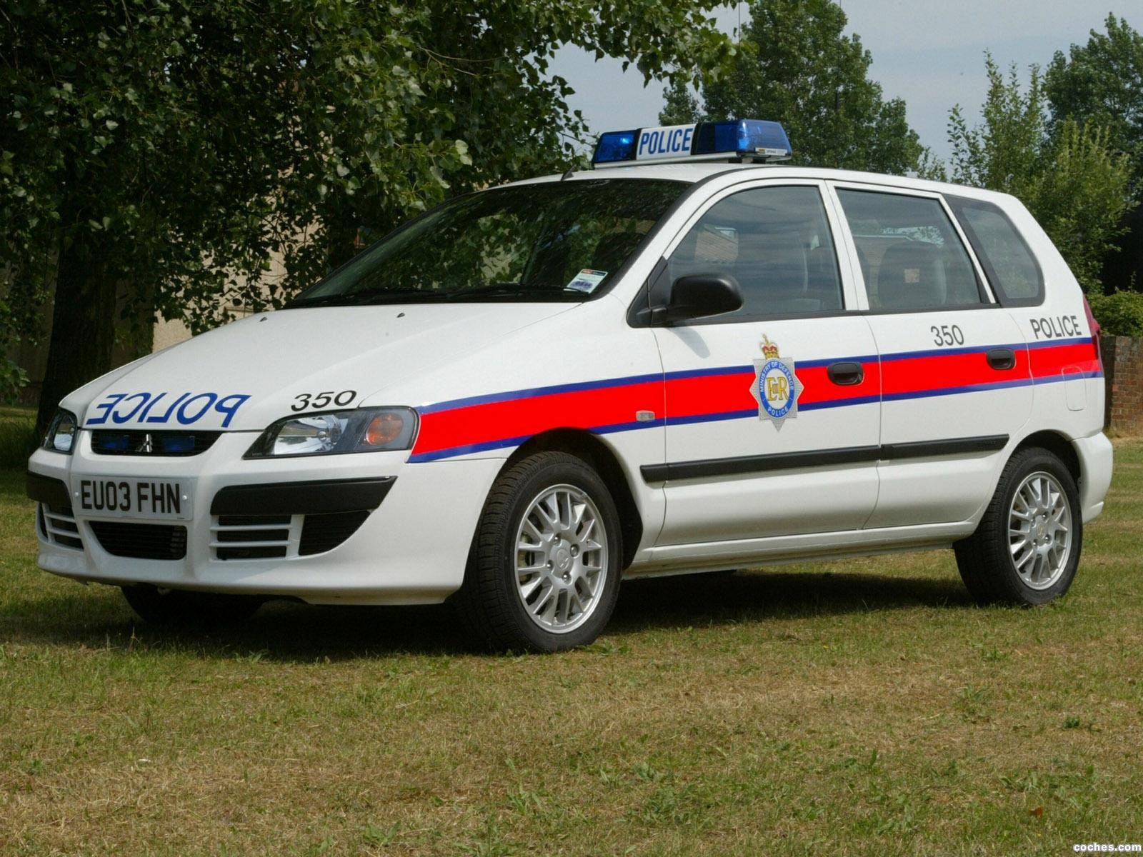 Foto 0 de Mitsubishi Space Star Police Car 2002
