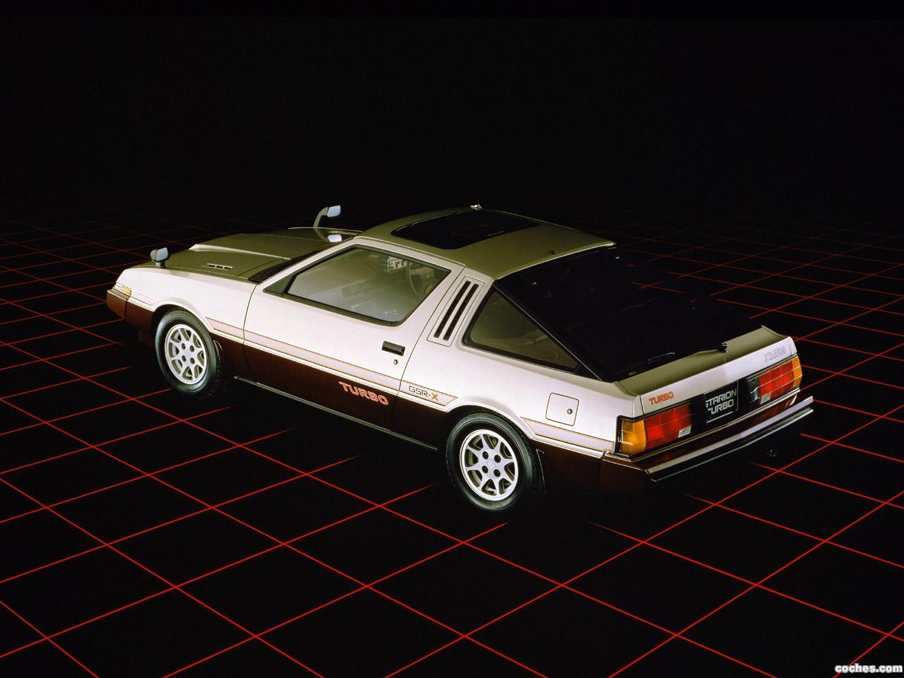 Foto 3 de Mitsubishi Starion Turbo GSR-X 1982