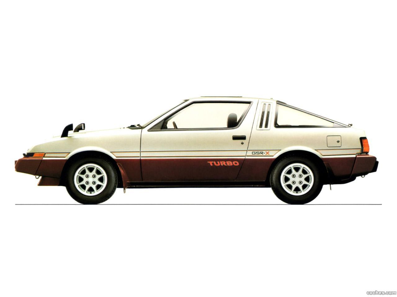 Foto 0 de Mitsubishi Starion Turbo GSR-X 1982