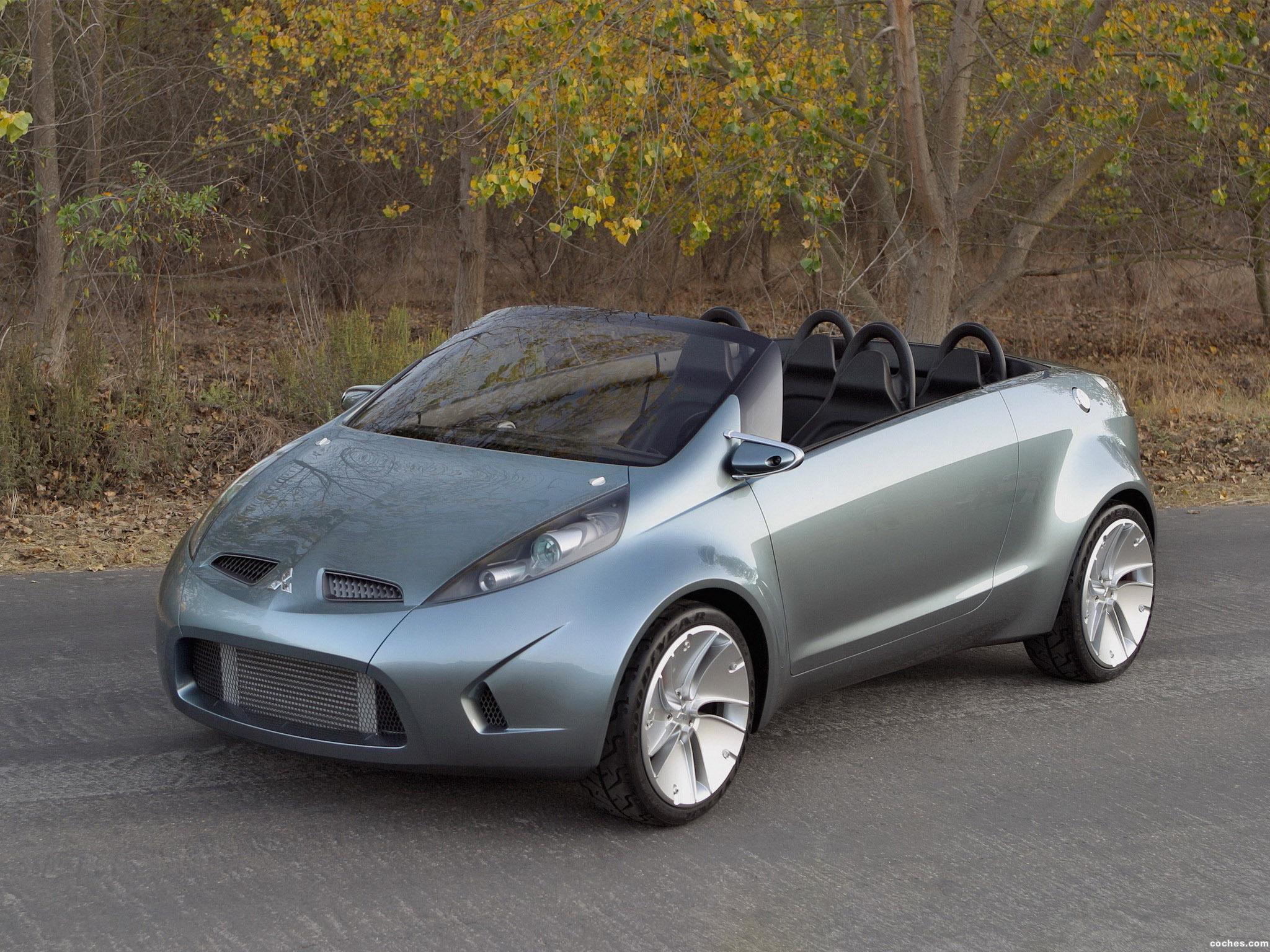 Foto 0 de Mitsubishi Tarmac Spyder Concept 2003