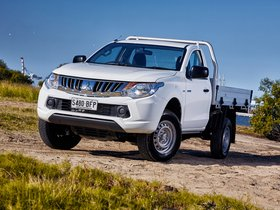 Fotos de Mitsubishi Triton Single Cab Tipper Australia 2015