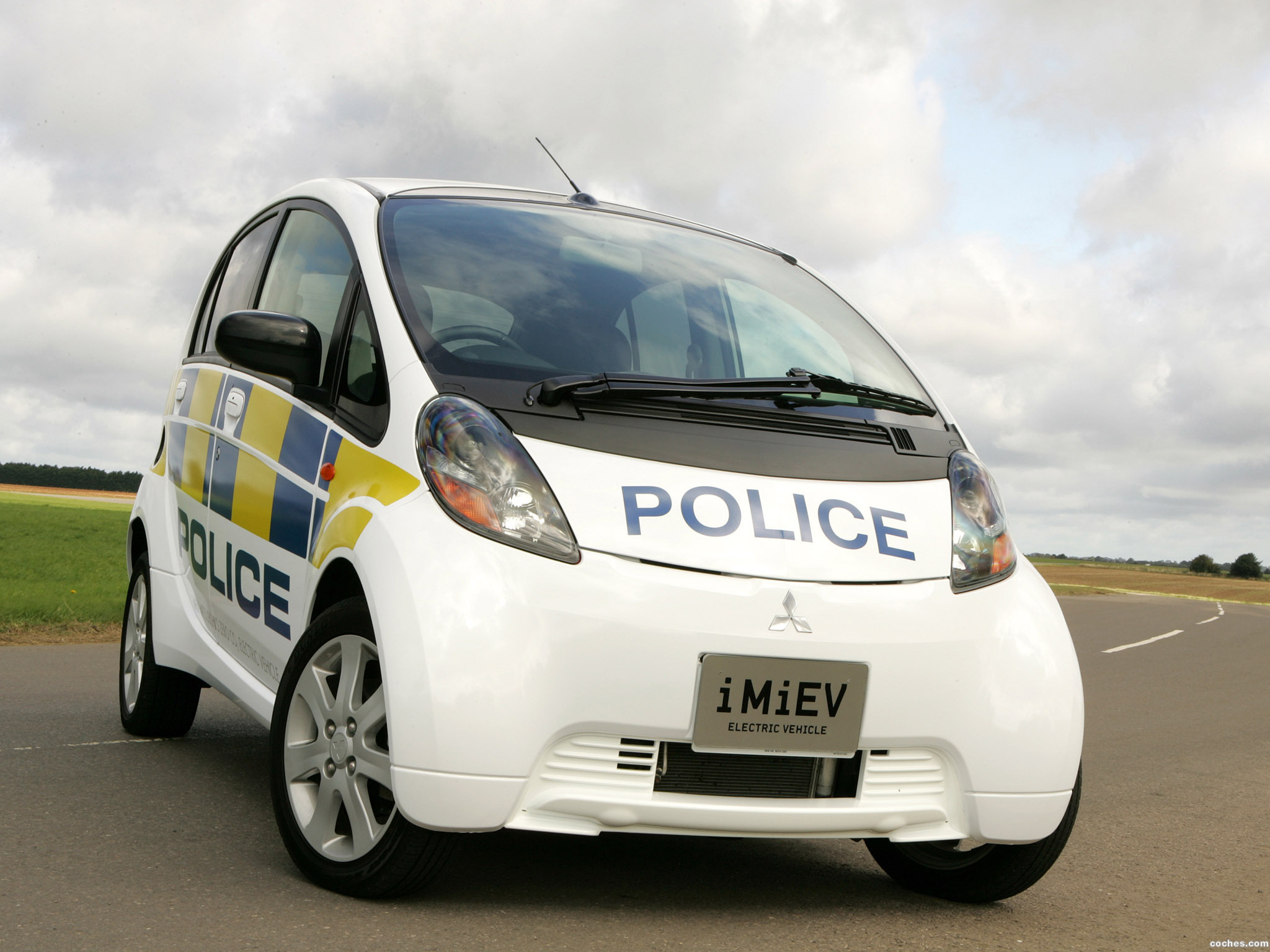 Foto 0 de Mitsubishi i-MiEV UK Police 2009