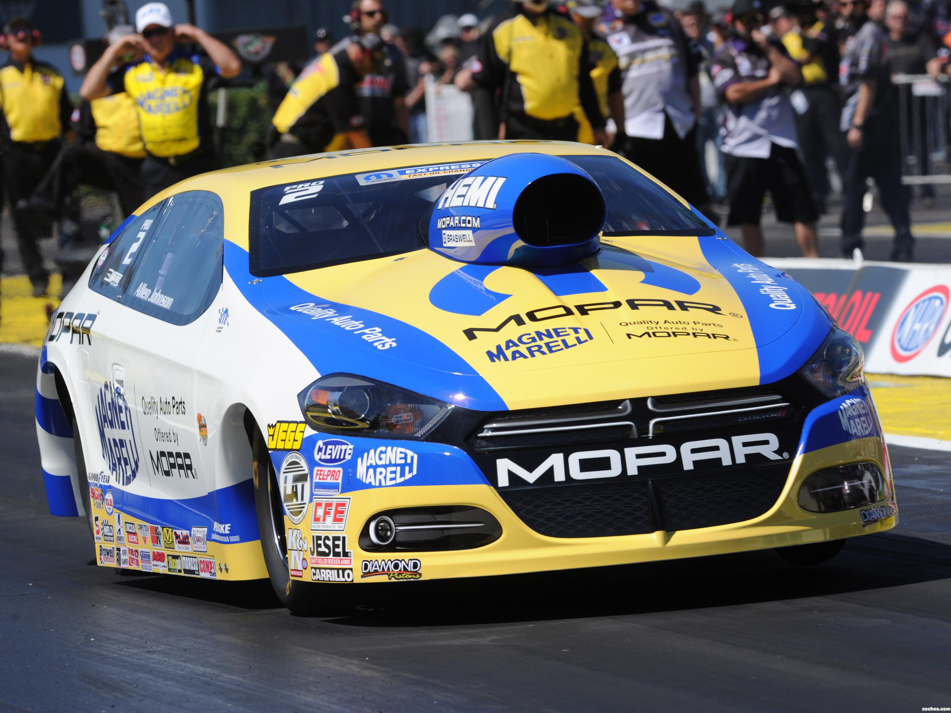 Foto 0 de Mopar Dodge Dart Pro Stock NHRA Gatornationals Car 2014