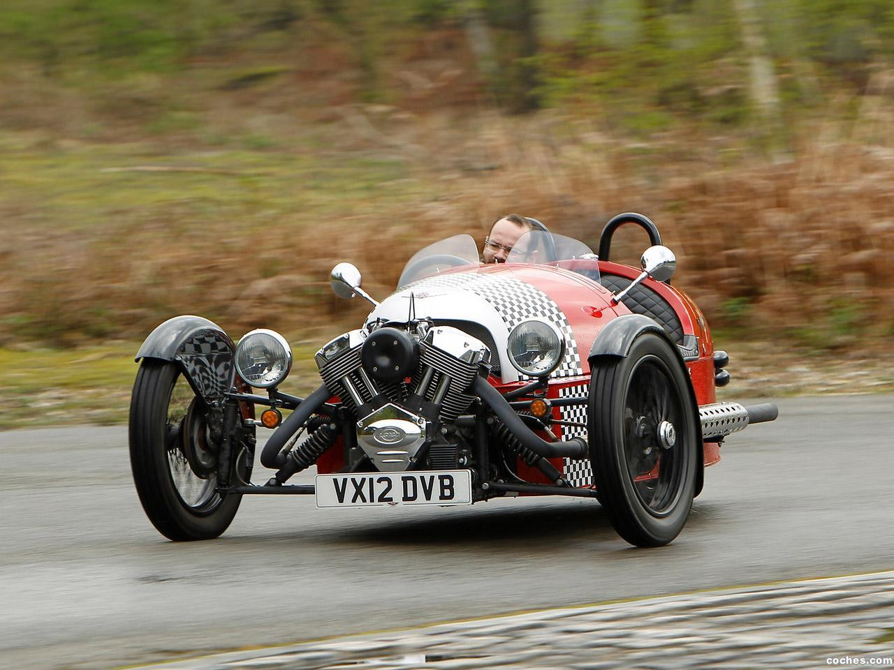 Foto 0 de Morgan 3 Wheeler UK 2011