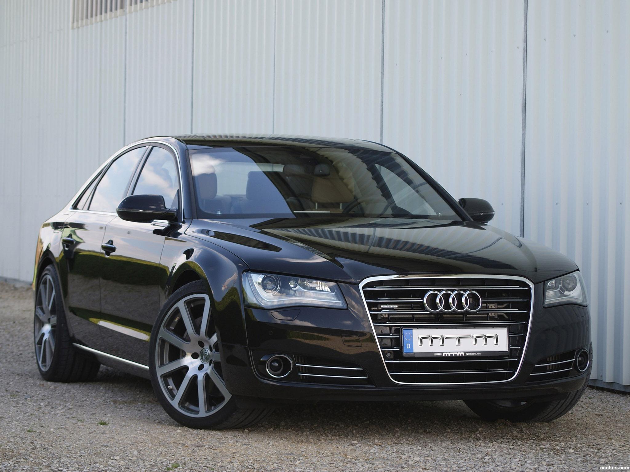 Foto 0 de MTM Audi A8 TDI 2012