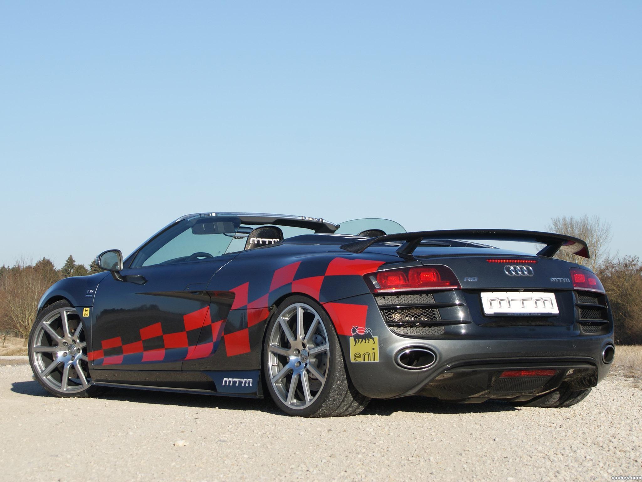 Foto 3 de Audi MTM R8 Spyder 2012