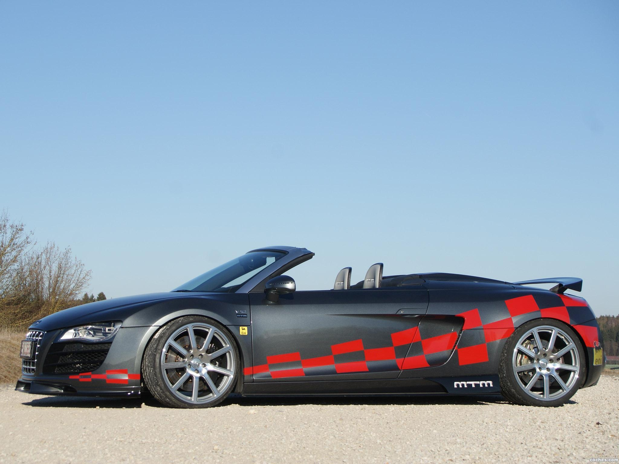 Foto 2 de Audi MTM R8 Spyder 2012