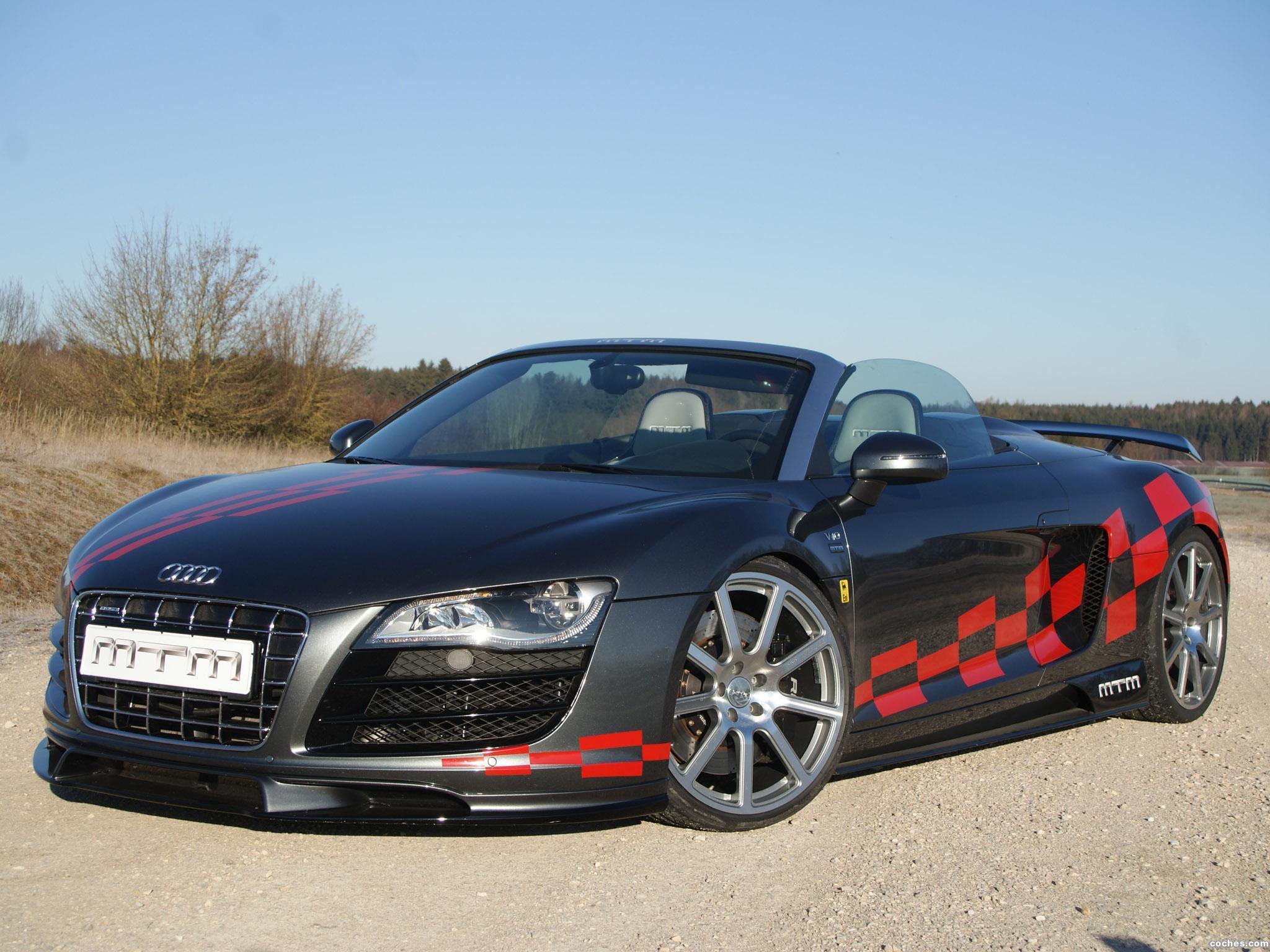 Foto 0 de Audi MTM R8 Spyder 2012
