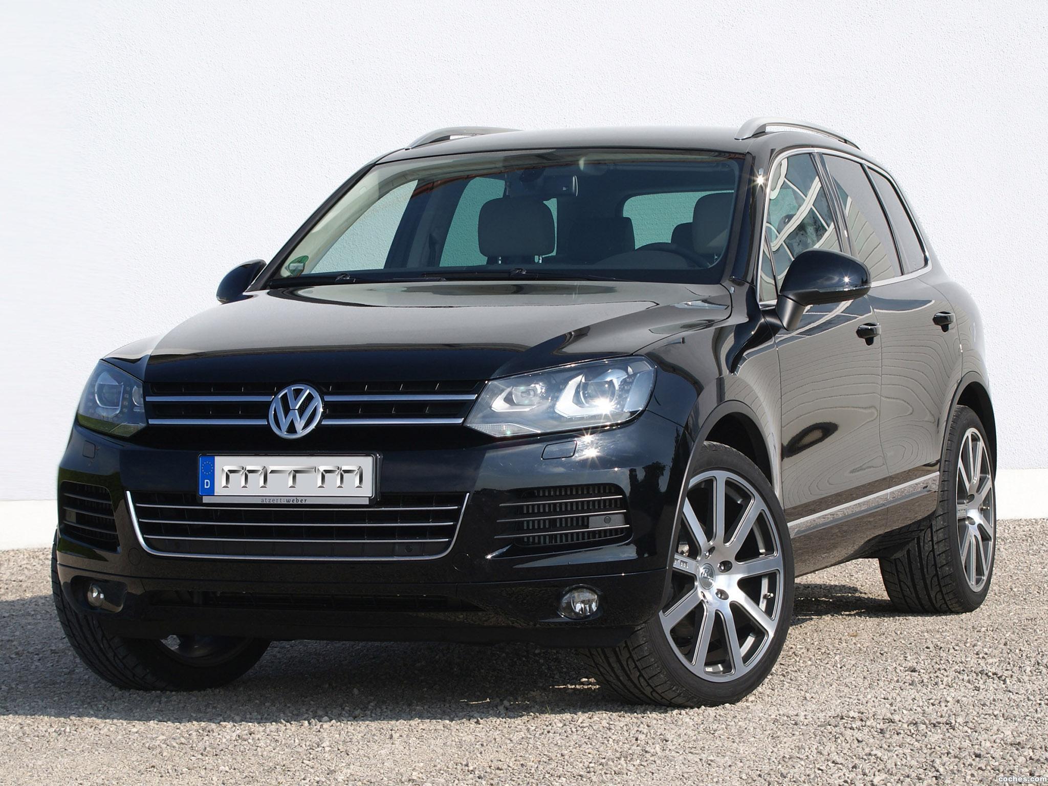Foto 0 de MTM Volkswagen Touareg TDI 2012