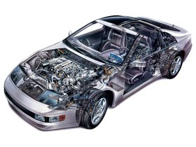 Ver foto 6 de Nissan 300ZX T-Top Z32 USA 1990