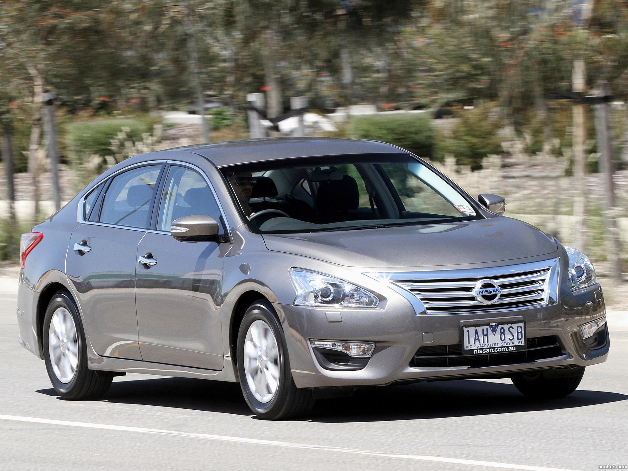 Foto 3 de Nissan Altima Australia 2013