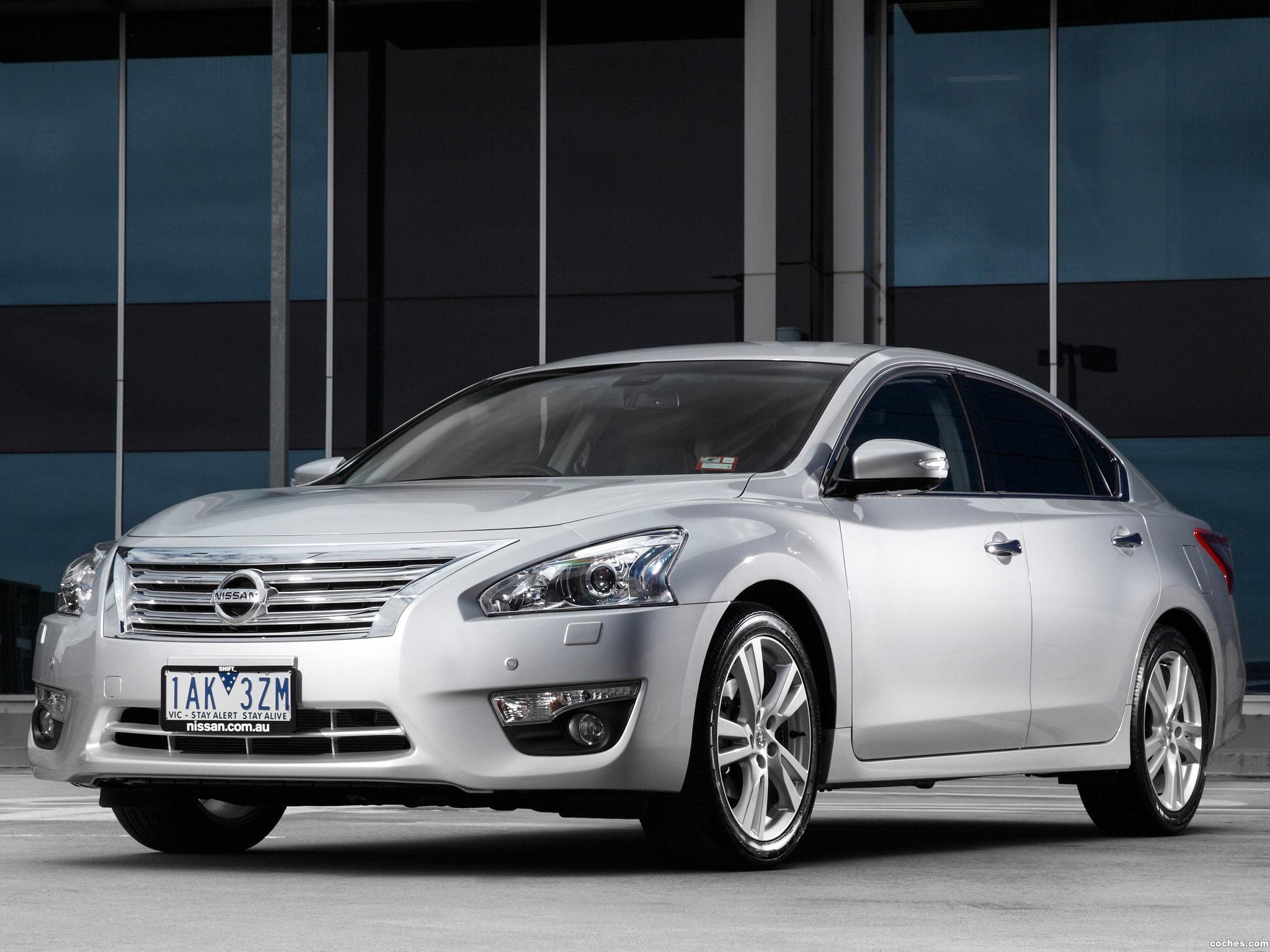 Foto 2 de Nissan Altima Australia 2013