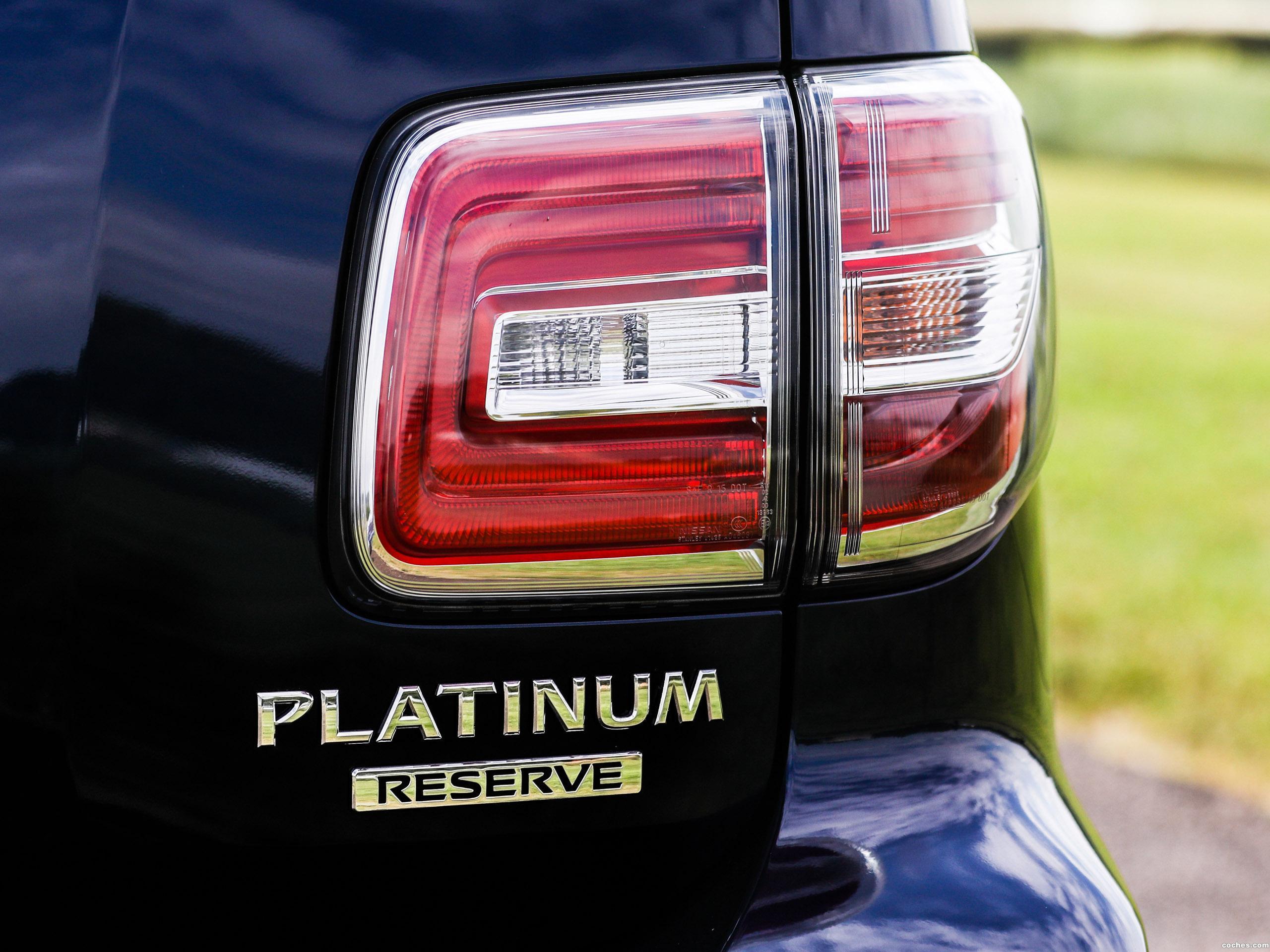 Foto 10 de Nissan Armada Platinum Reserve  2017