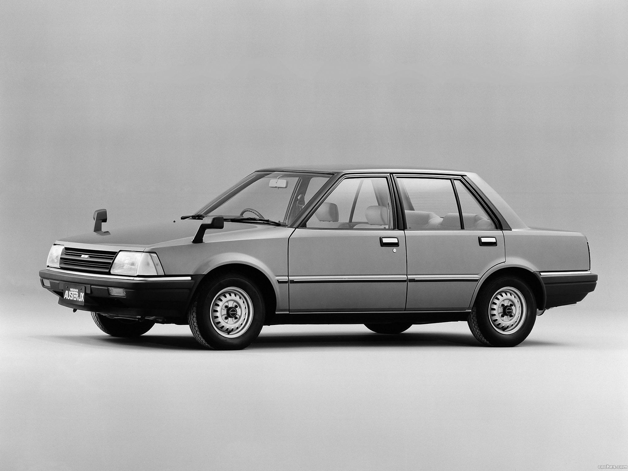 Foto 0 de Nissan Auster JX Sedan T11 1981