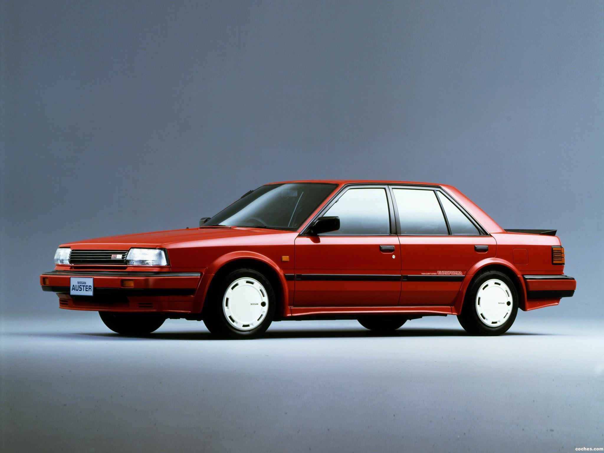 Foto 0 de Nissan Auster RTT Euroforma T12  1986