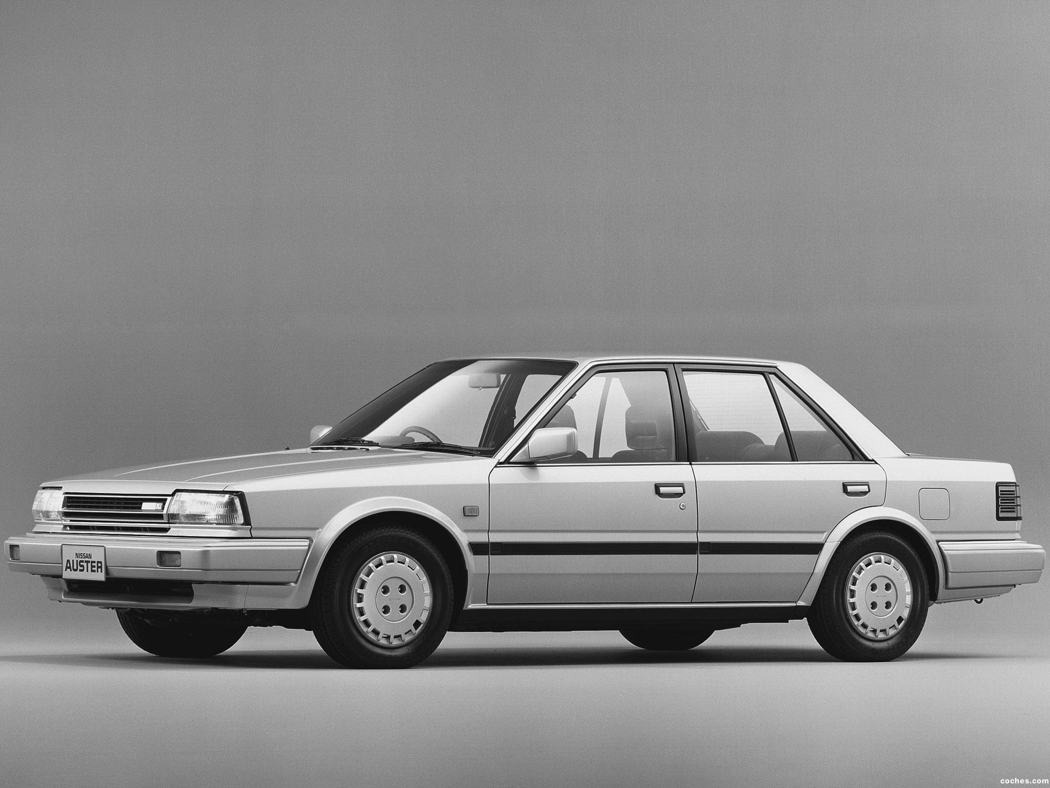 Foto 0 de Nissan Auster Xi T12 UK 1987