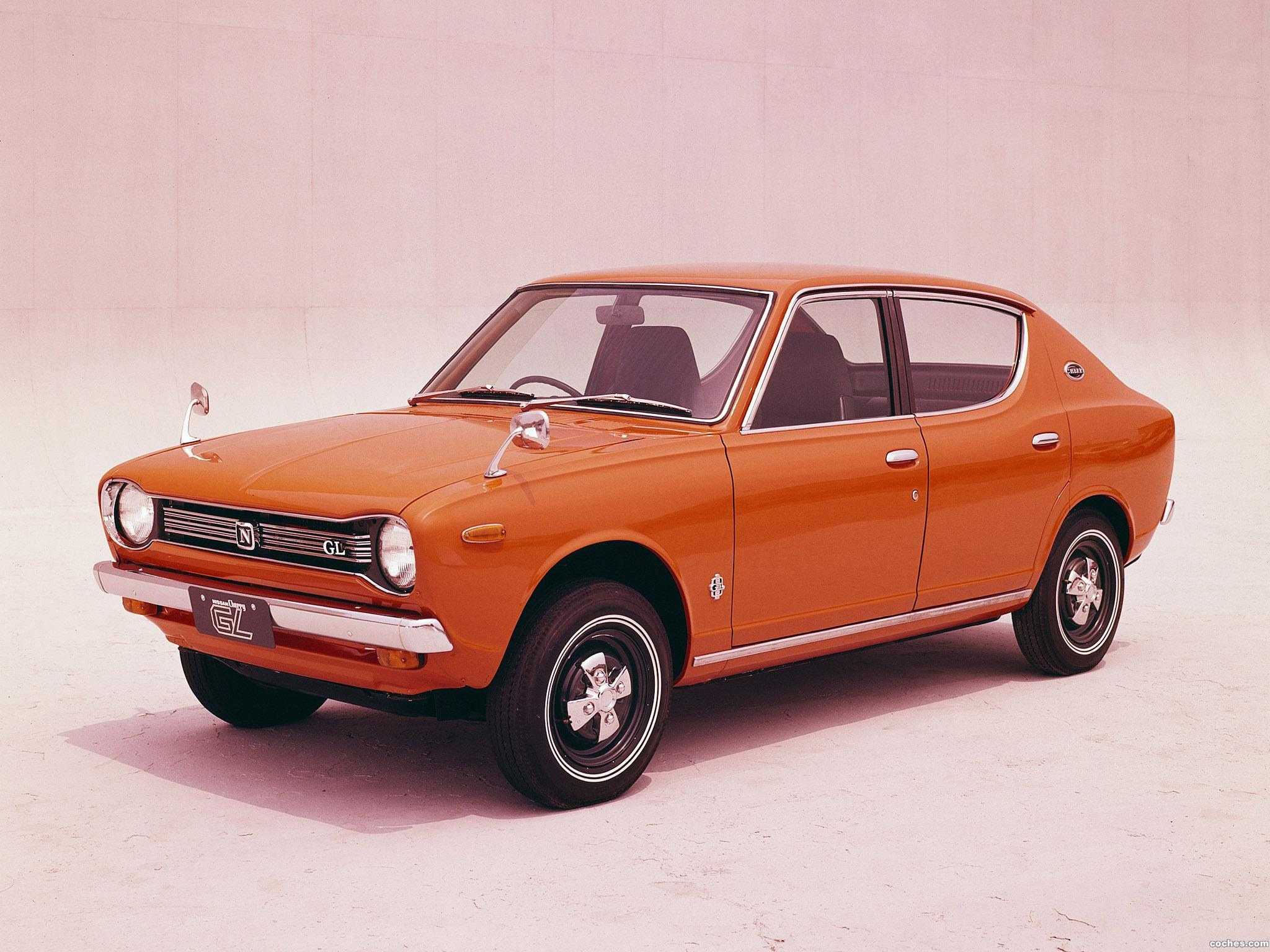 Foto 0 de Nissan Cherry GL 4 door Sedan 1970