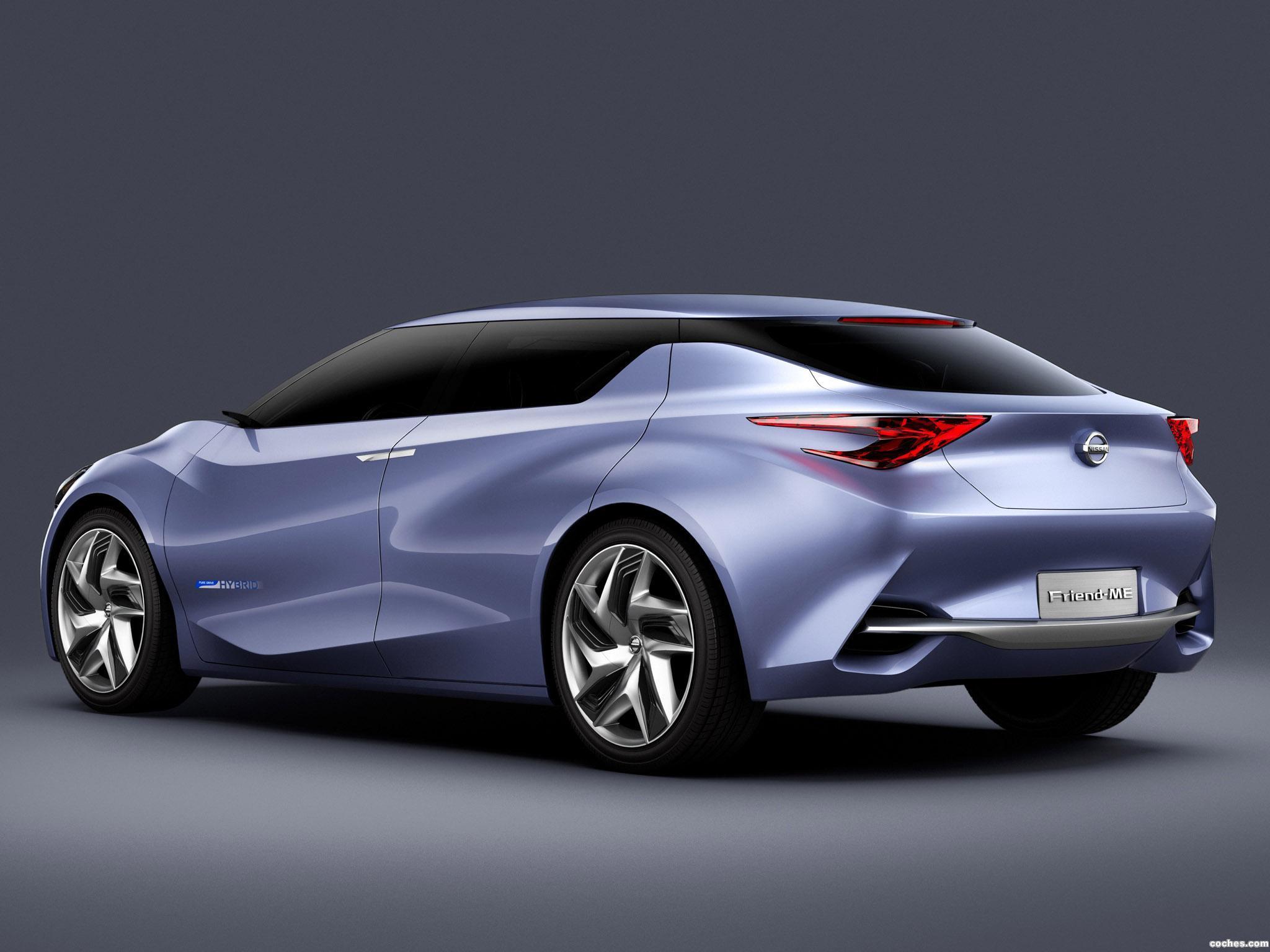 Foto 7 de Nissan Friend-ME Concept 2013