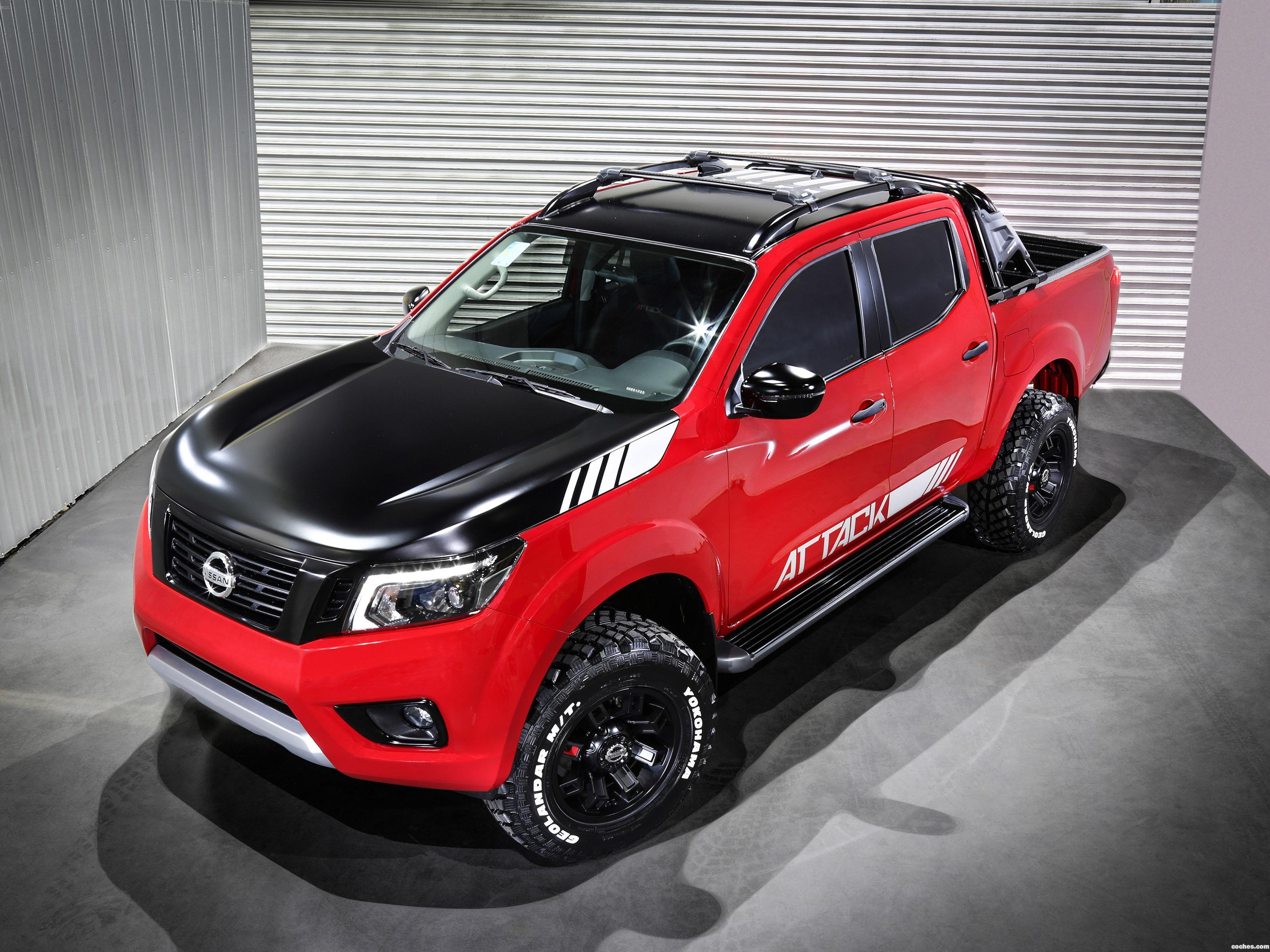 Foto 3 de Nissan Frontier Attack Concept 2017