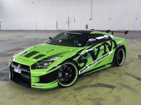 Fotos de Nissan GT-R 1200R Hulk Tuning SVM 2010