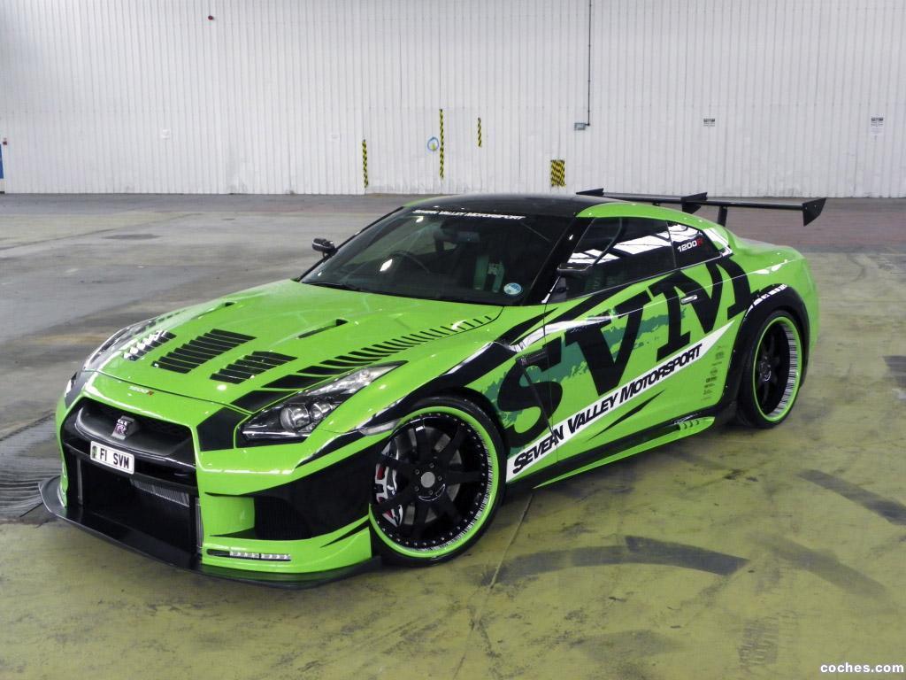 Foto 0 de Nissan GT-R 1200R Hulk Tuning SVM 2010
