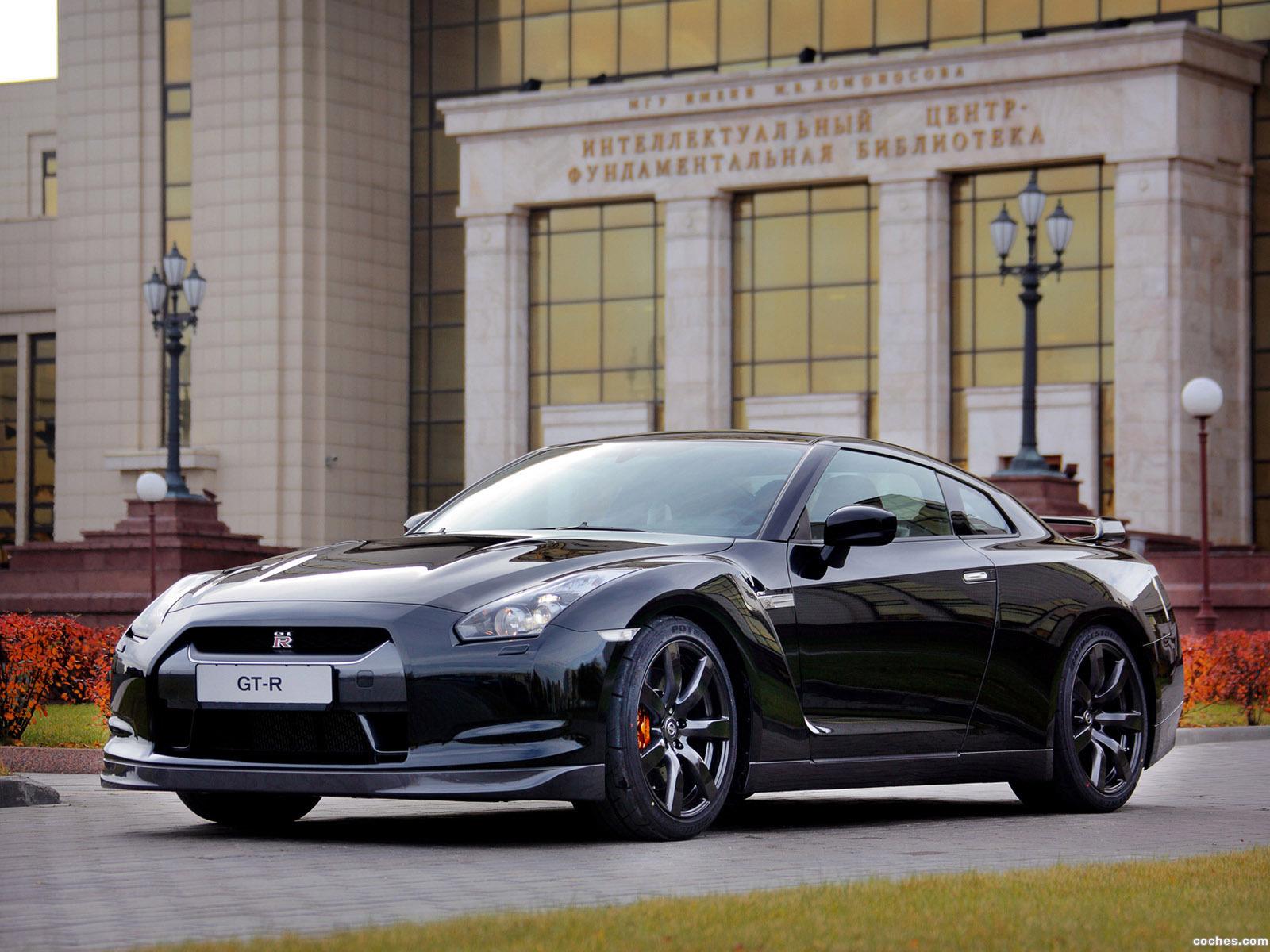 Foto 0 de Nissan GT-R Black Edition 2008
