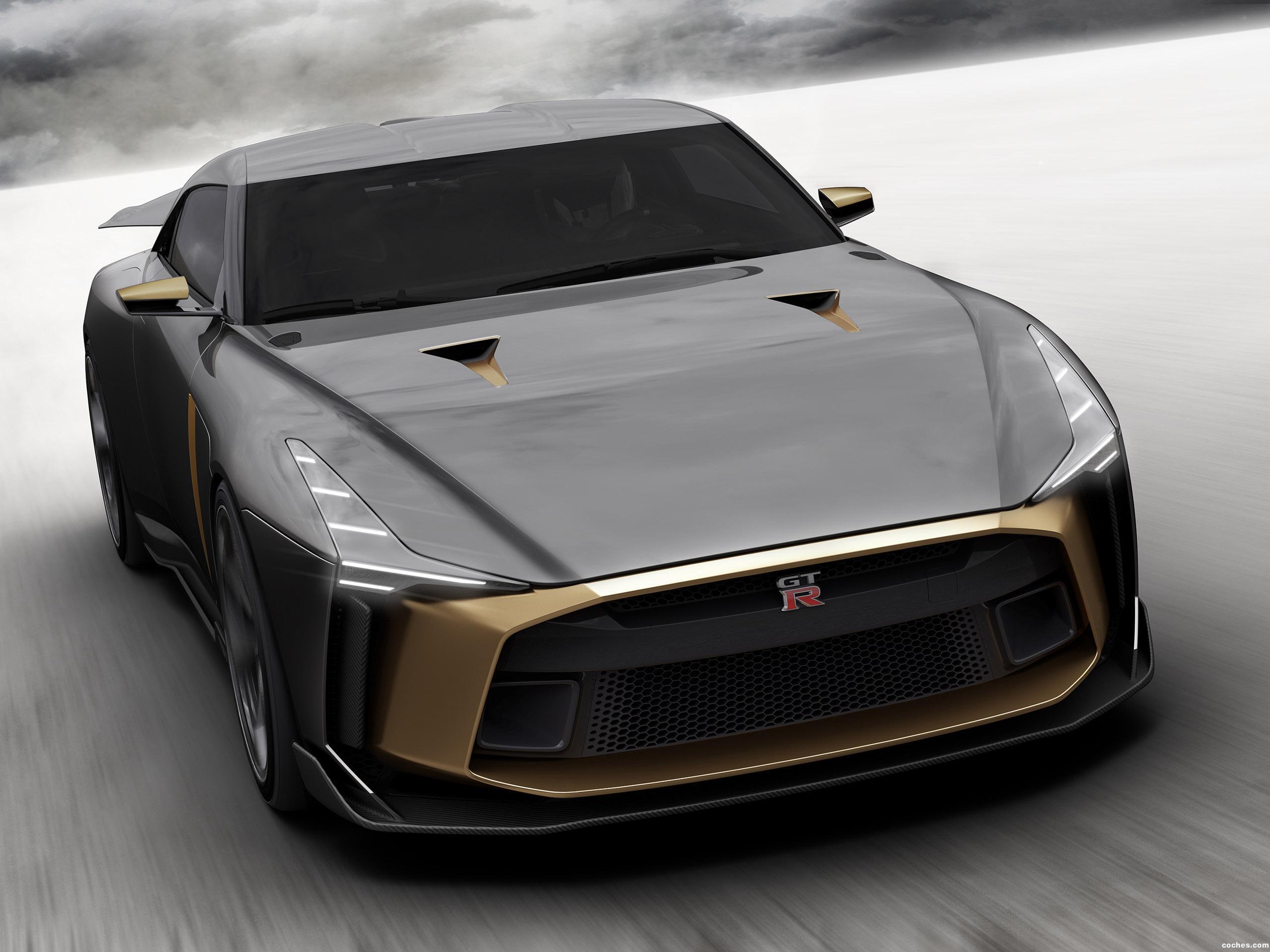 Foto 3 de Nissan GT-R50 Concept by Italdesign 2018